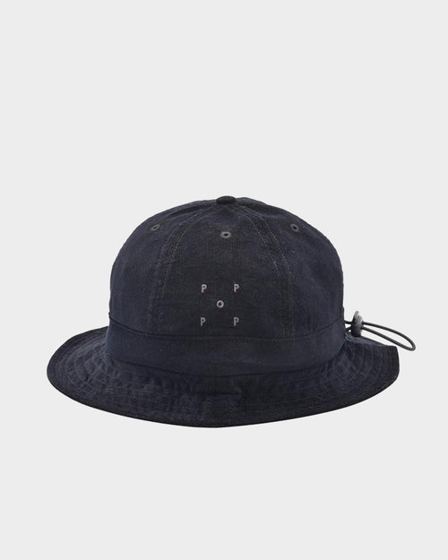Pop Trading Co Pop Bell Hat  Black Minicord