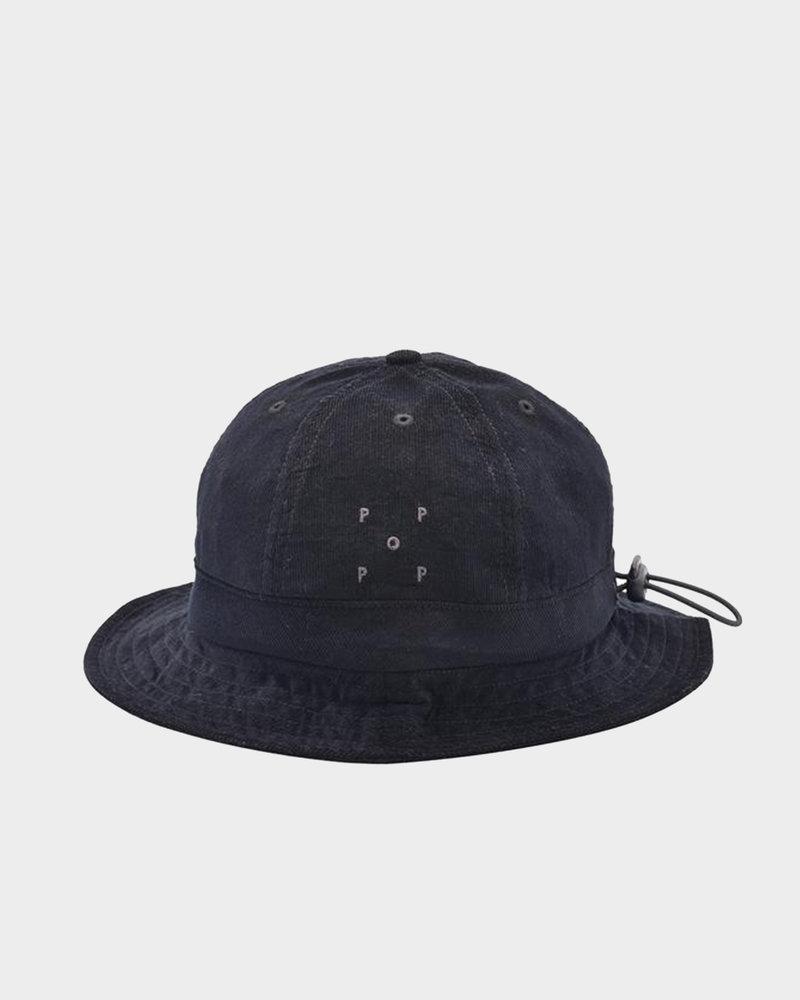 Pop Trading Co Pop Bell Hat  Black Minicord