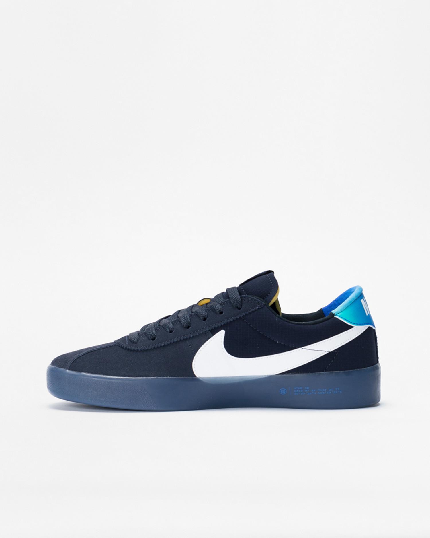 Nike sb bruin react t Dark obsidian/white-hyper jade