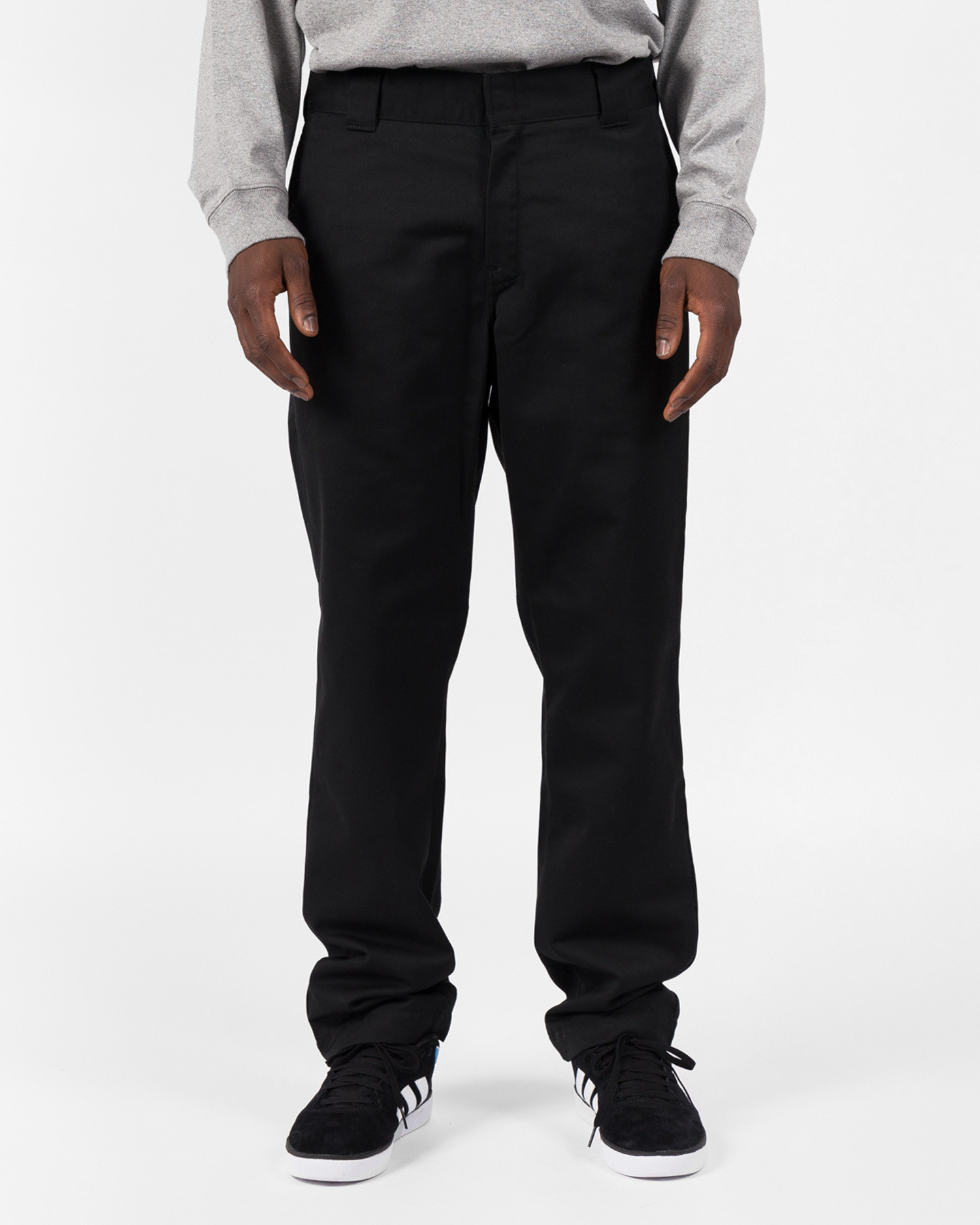 Carhartt master pant black rinsed