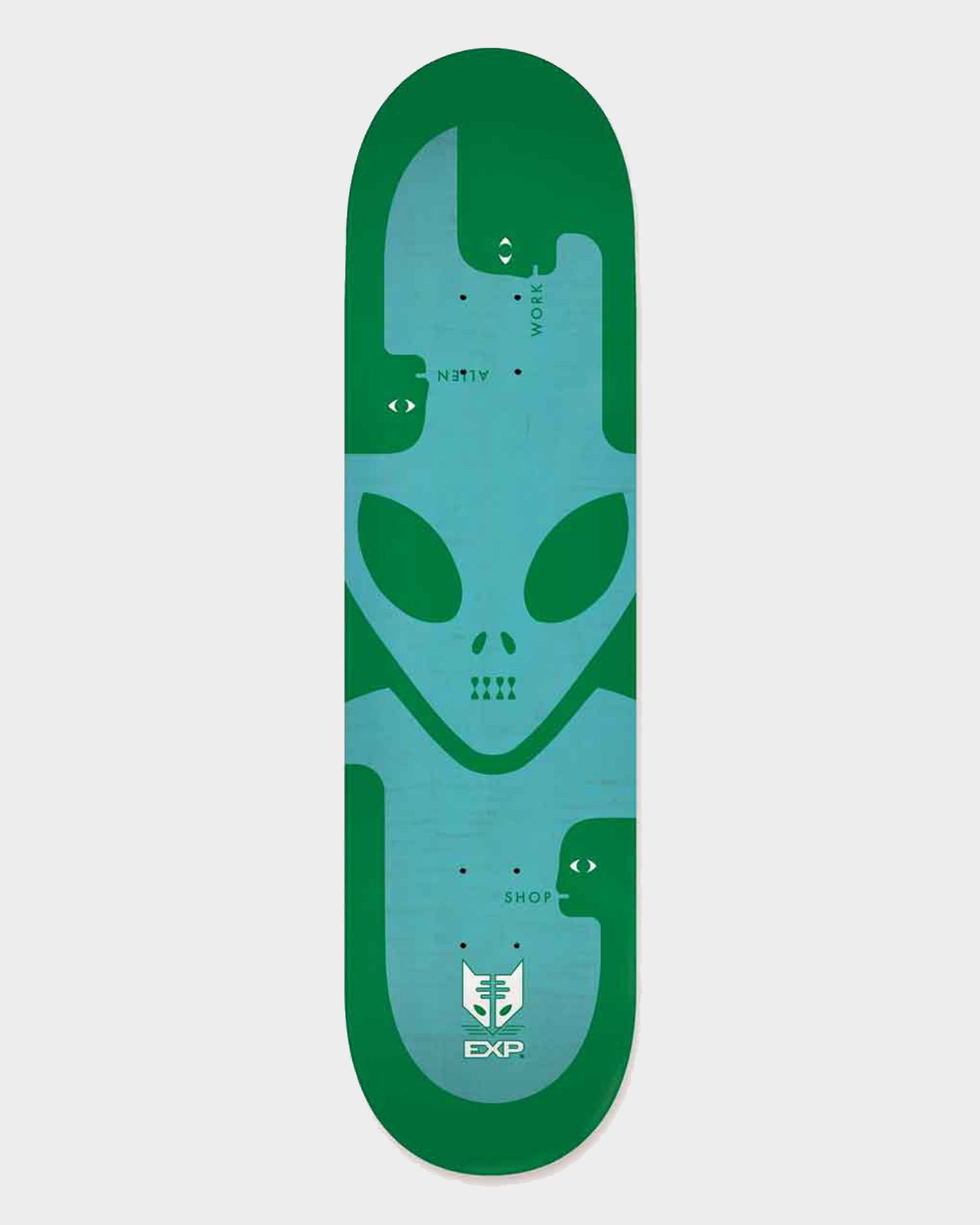 Alien Workshop Deck Exp Green 8.5