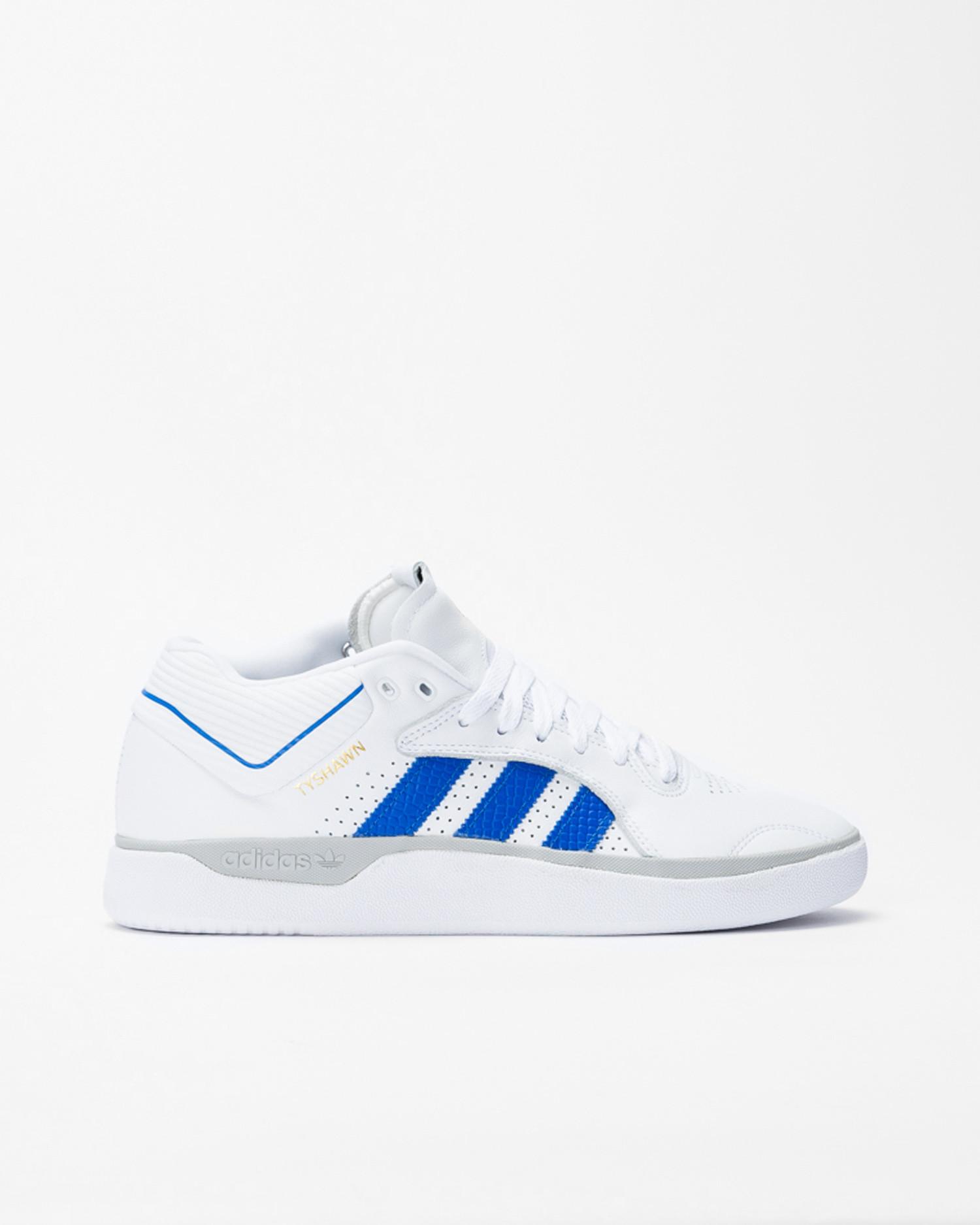 Adidas Tyshawn Footwear White/Blue/Gold