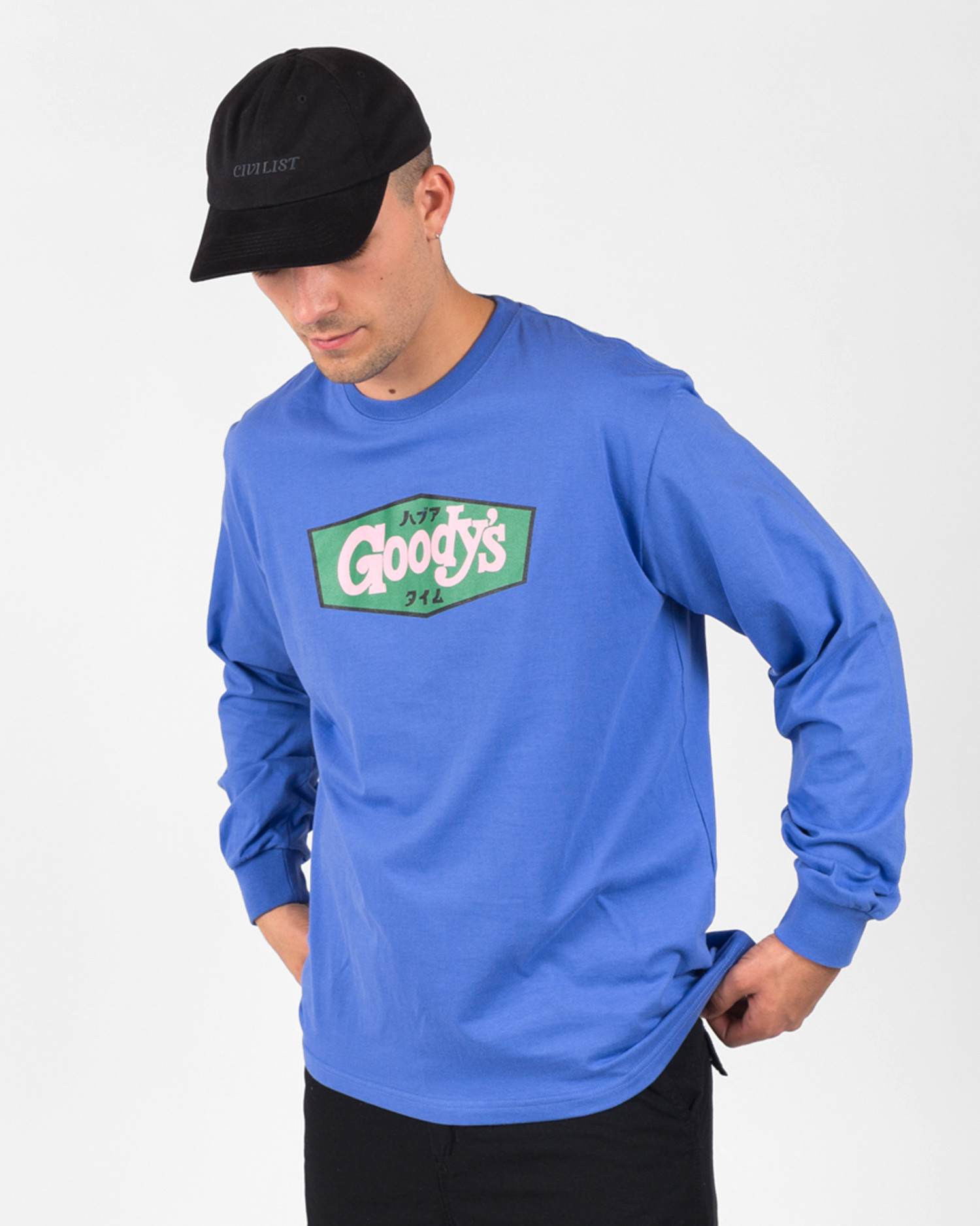Have A Good Time Goody Longsleeve Tee Azure