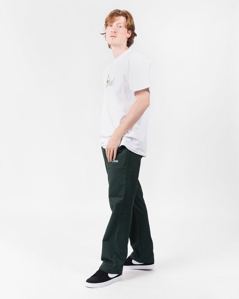 Dime Dime Twill Pants Green