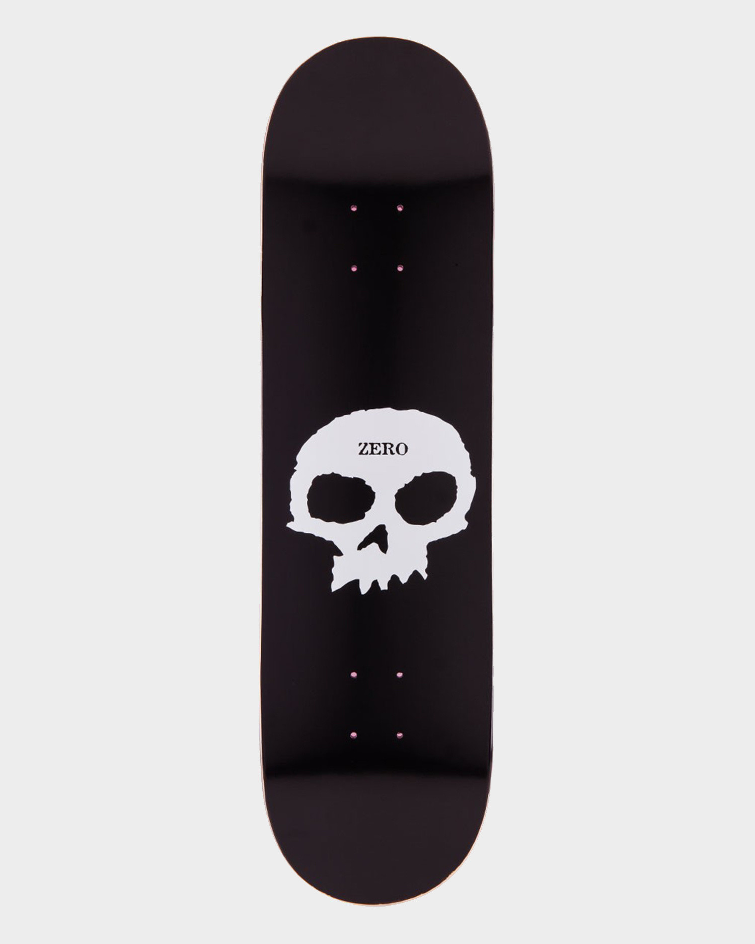 Zero Single Skull Deck Black/White 8