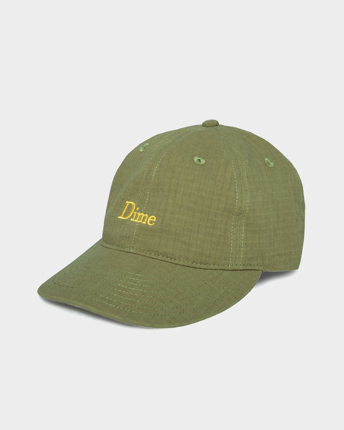 Dime Dime Classic Logo Hat Military Green