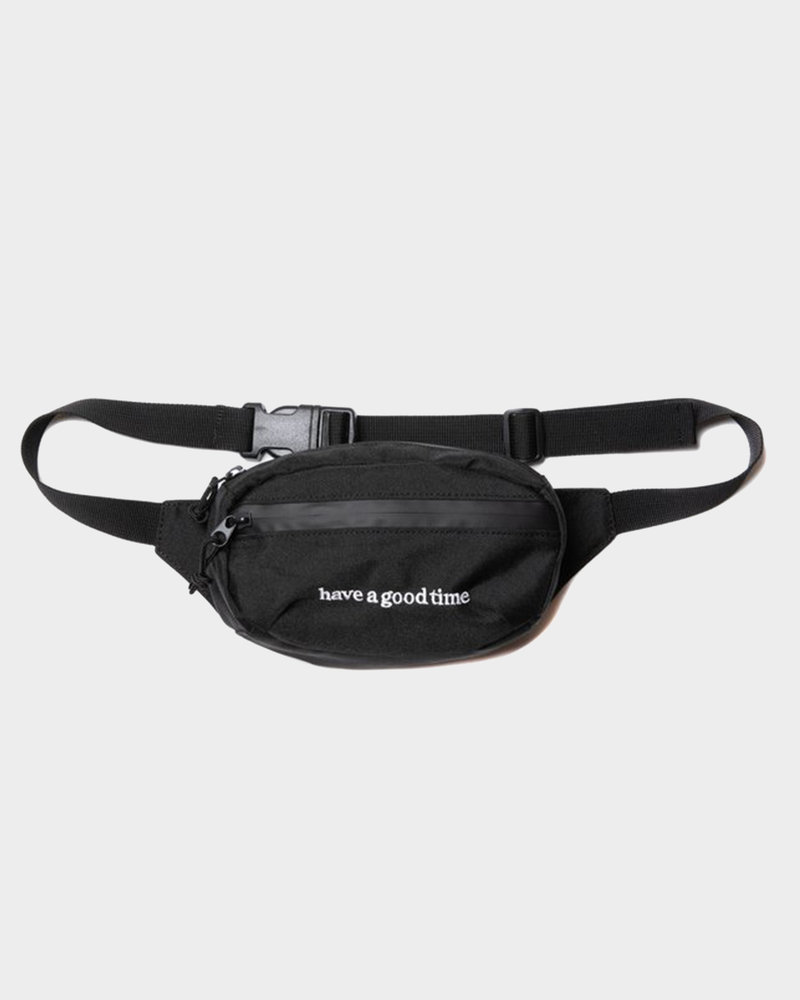 HAVE A GOOD TIME Have A Good Time Side Logo Hip Bag Black