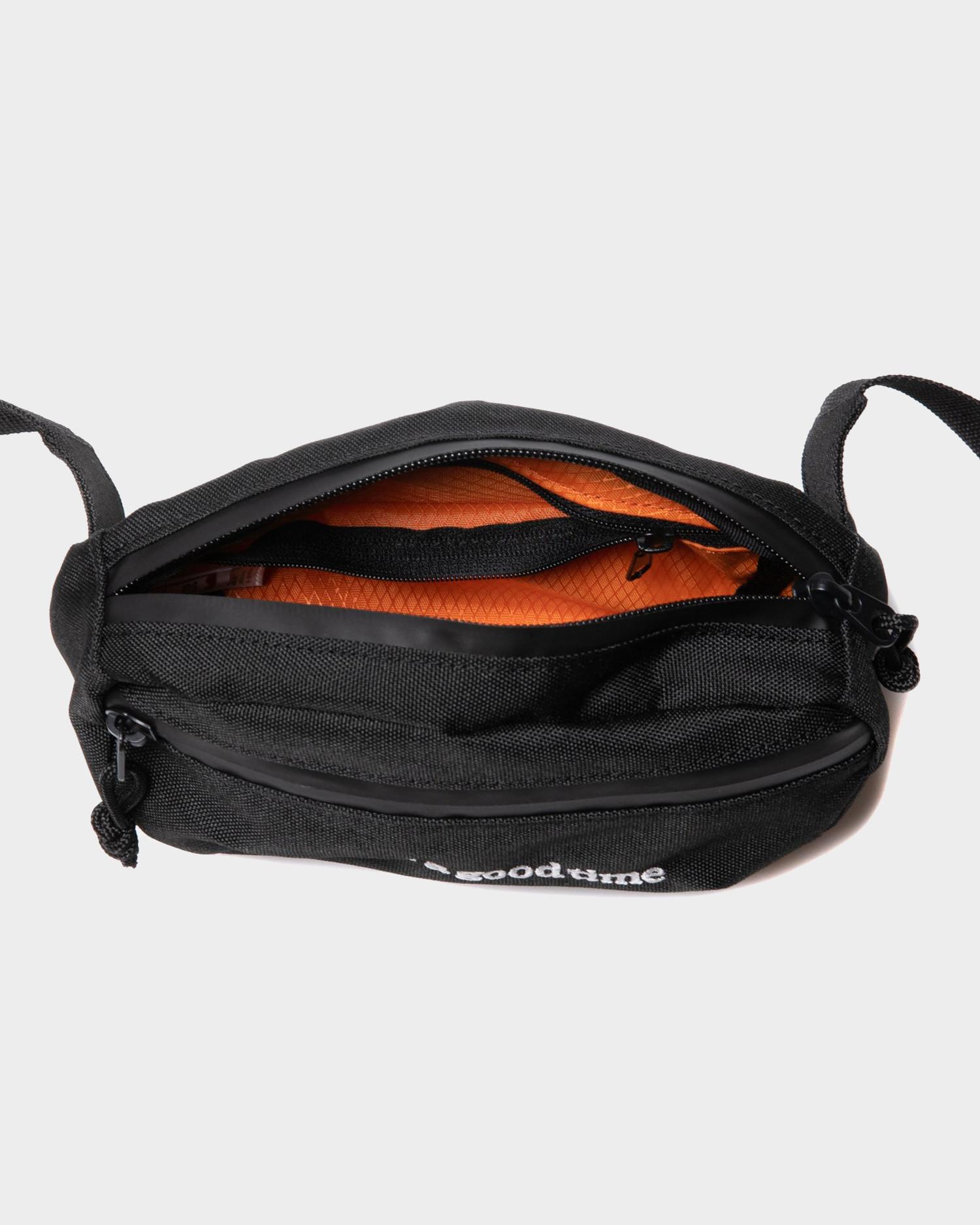 Have A Good Time Side Logo Hip Bag Black