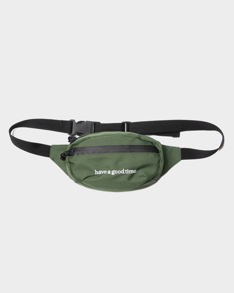 HAVE A GOOD TIME Have A Good Time Side Logo Hip Bag Sage