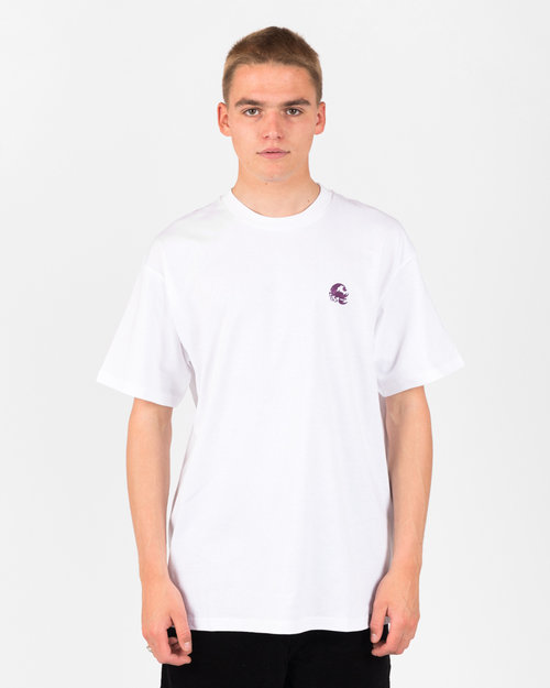 Carhartt Carhartt Scorpions T-Shirt White/Boysenberry
