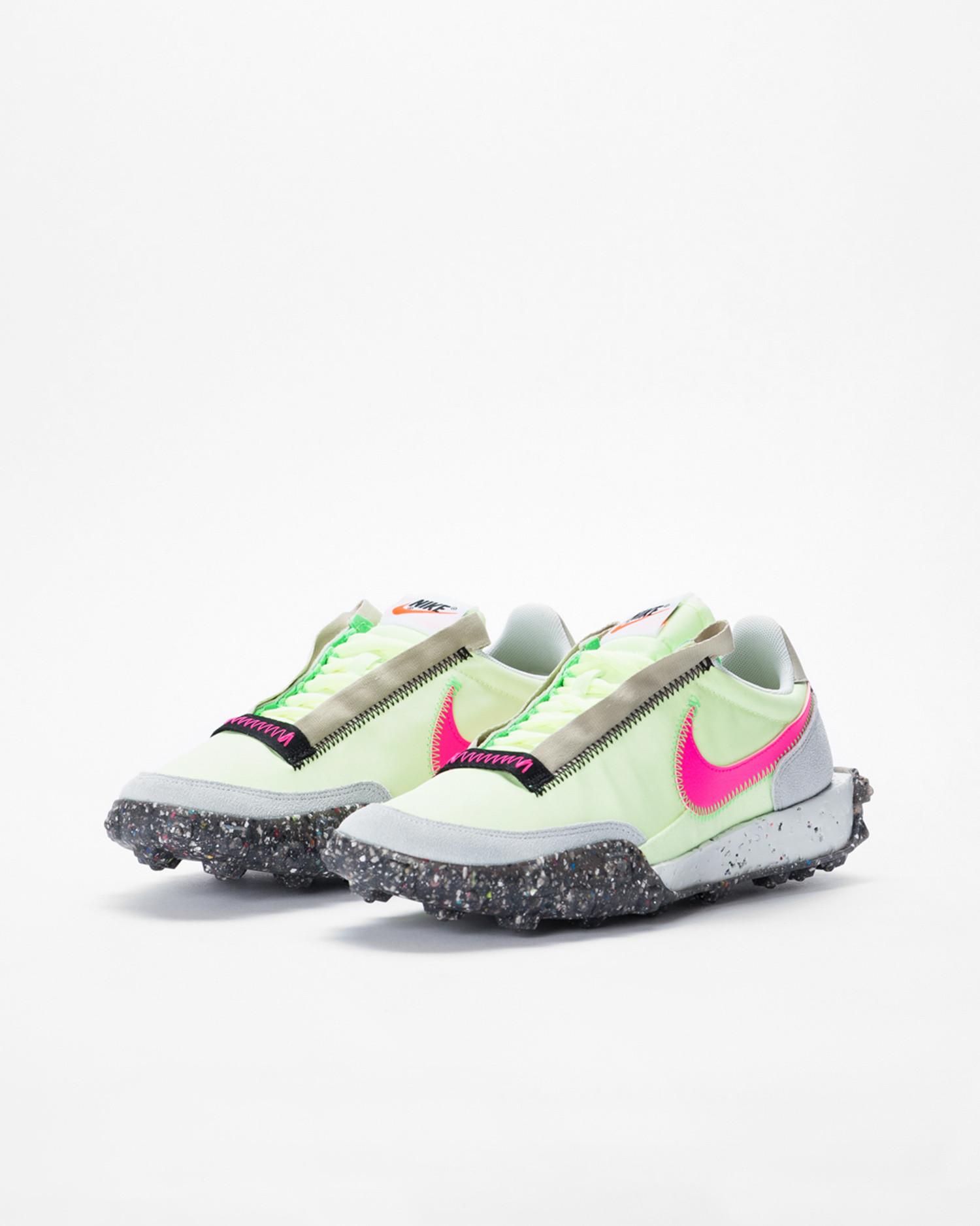 Nike Waffle Racer volt/pink/black
