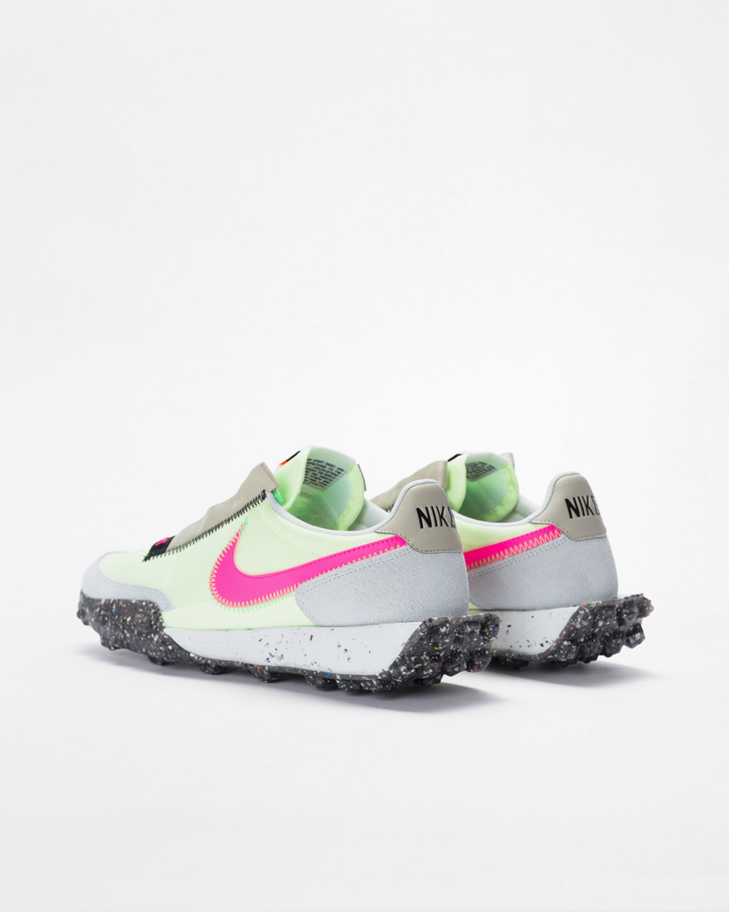 W Nike Waffle Racer volt/pink/black