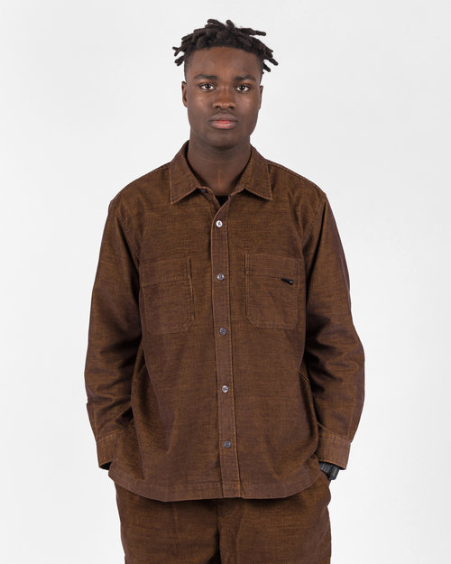 Polar Polar Cord Shirt Caramel