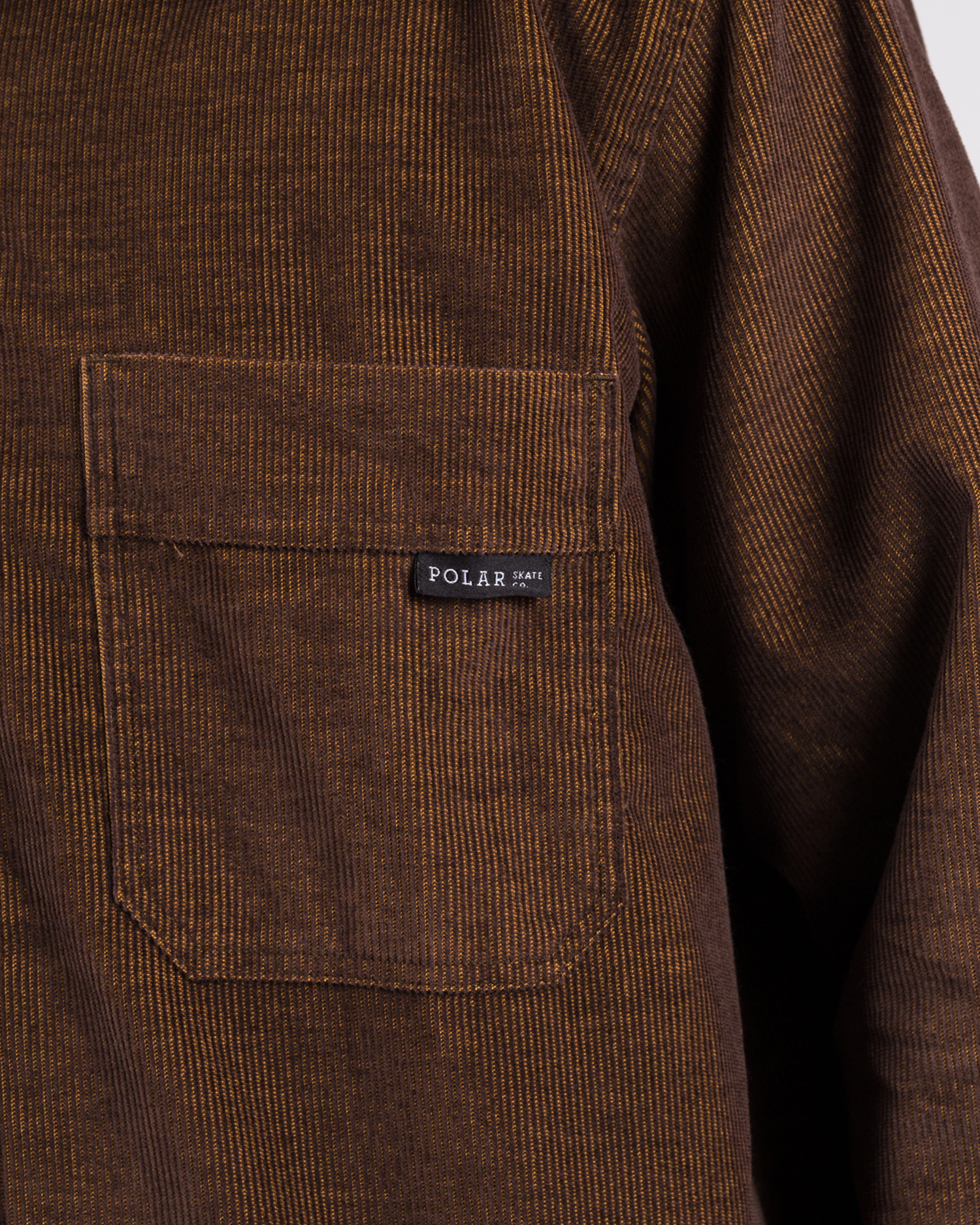 Polar Cord Shirt Caramel