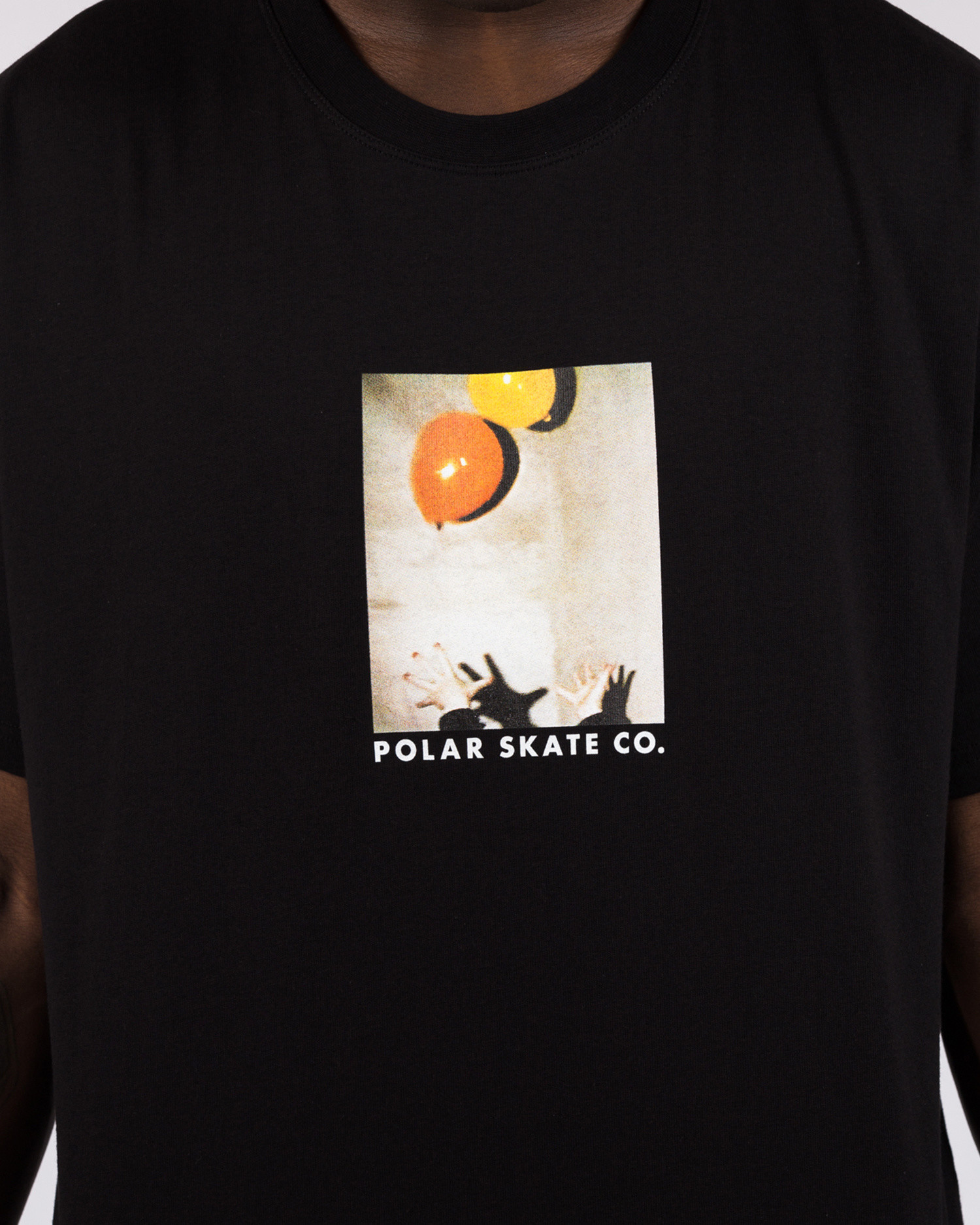 Polar Balloon Tee Black