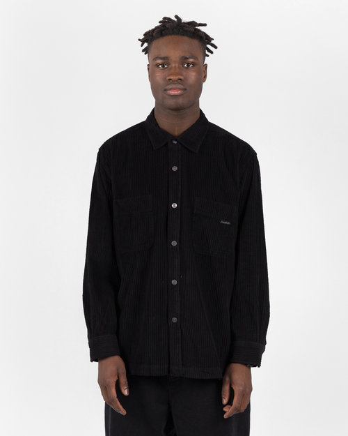 Polar Polar Cord Shirt Black