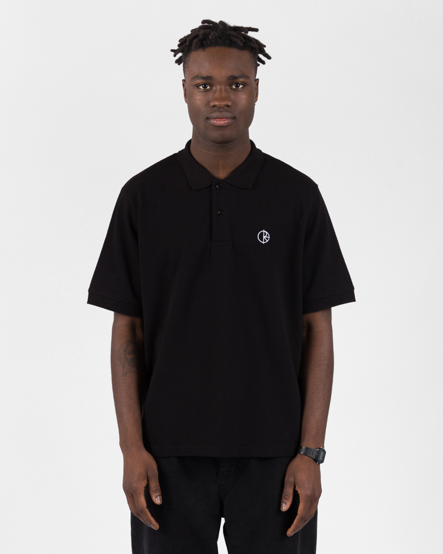 Polar Pique Shirt Black
