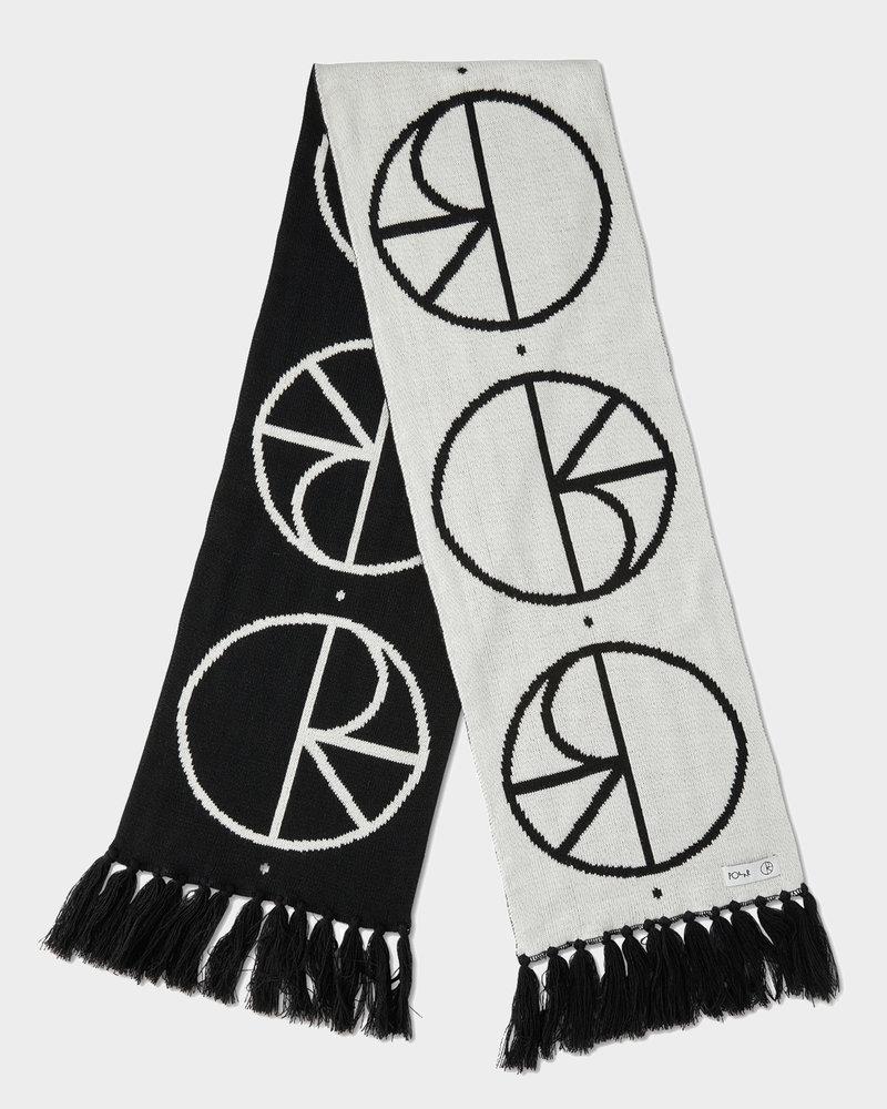 Polar Polar Stroke Logo Scarf Black