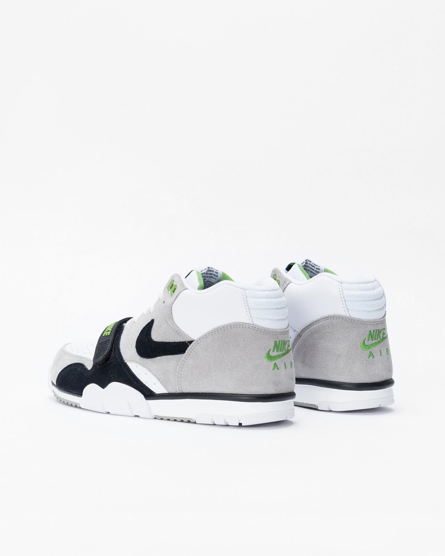 Nike Sb Air Trainer Iso Medium Grey/black-white-chlorophyll