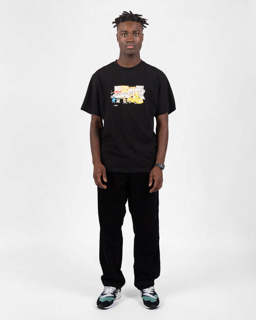 Carhartt Carhartt Simple Pant Cotton Black Rinsed