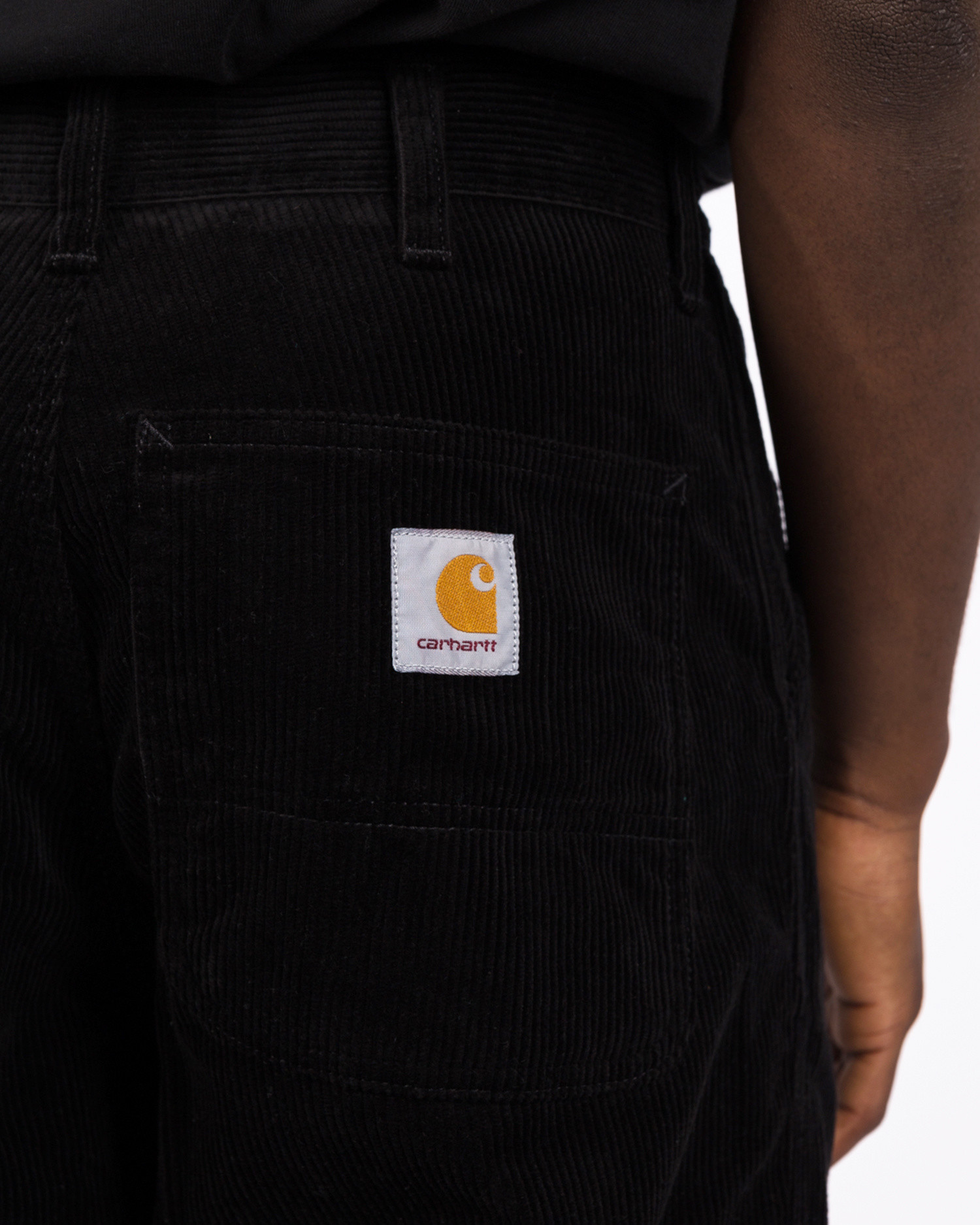 Carhartt Simple Pant Cotton Black Rinsed