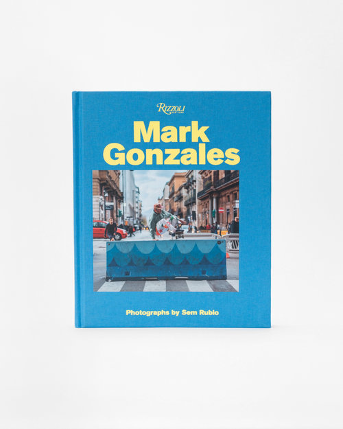 Rizzoli Mark Gonzales book / photographs by Sem Rubio