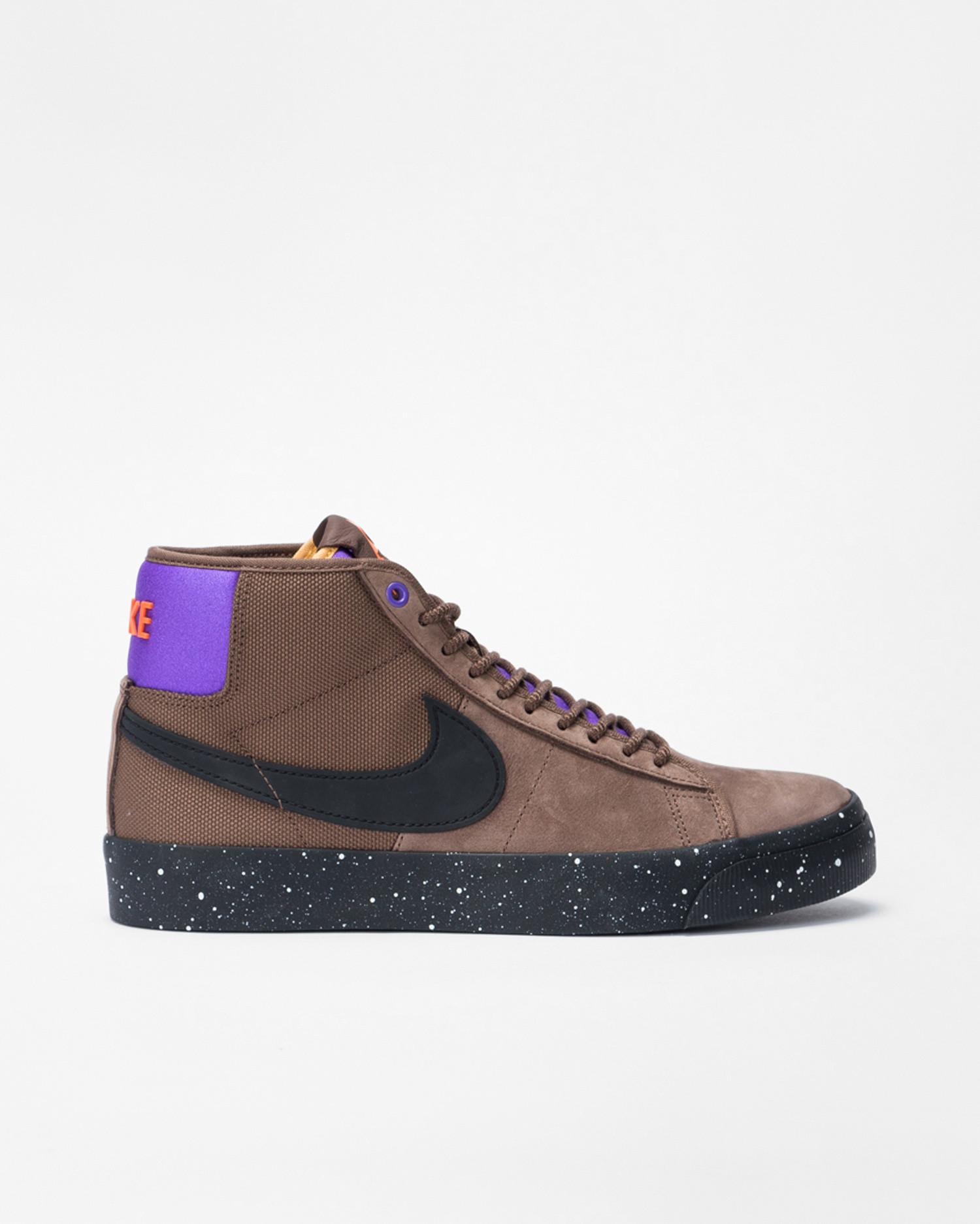 Nike SB Zoom Blazer Mid Pro GT Trails End Brown-Prism Violet