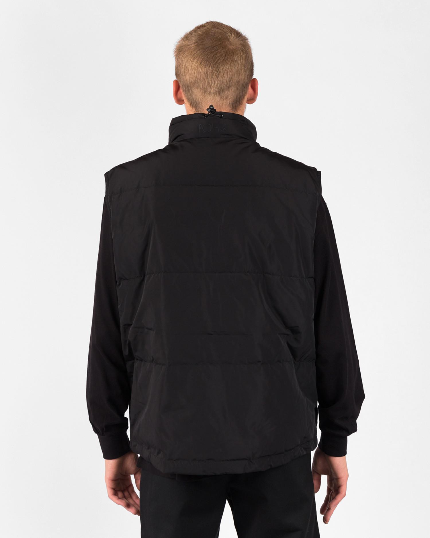 Polar Puffer Vest Black