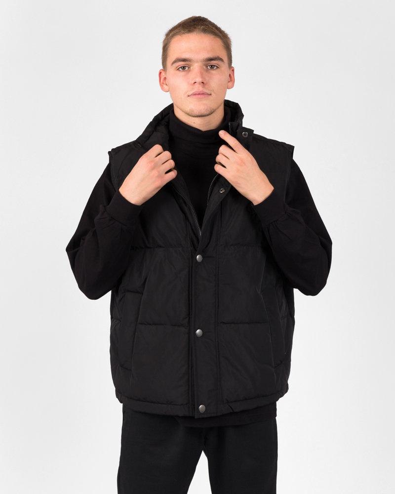 Polar Polar Puffer Vest Black