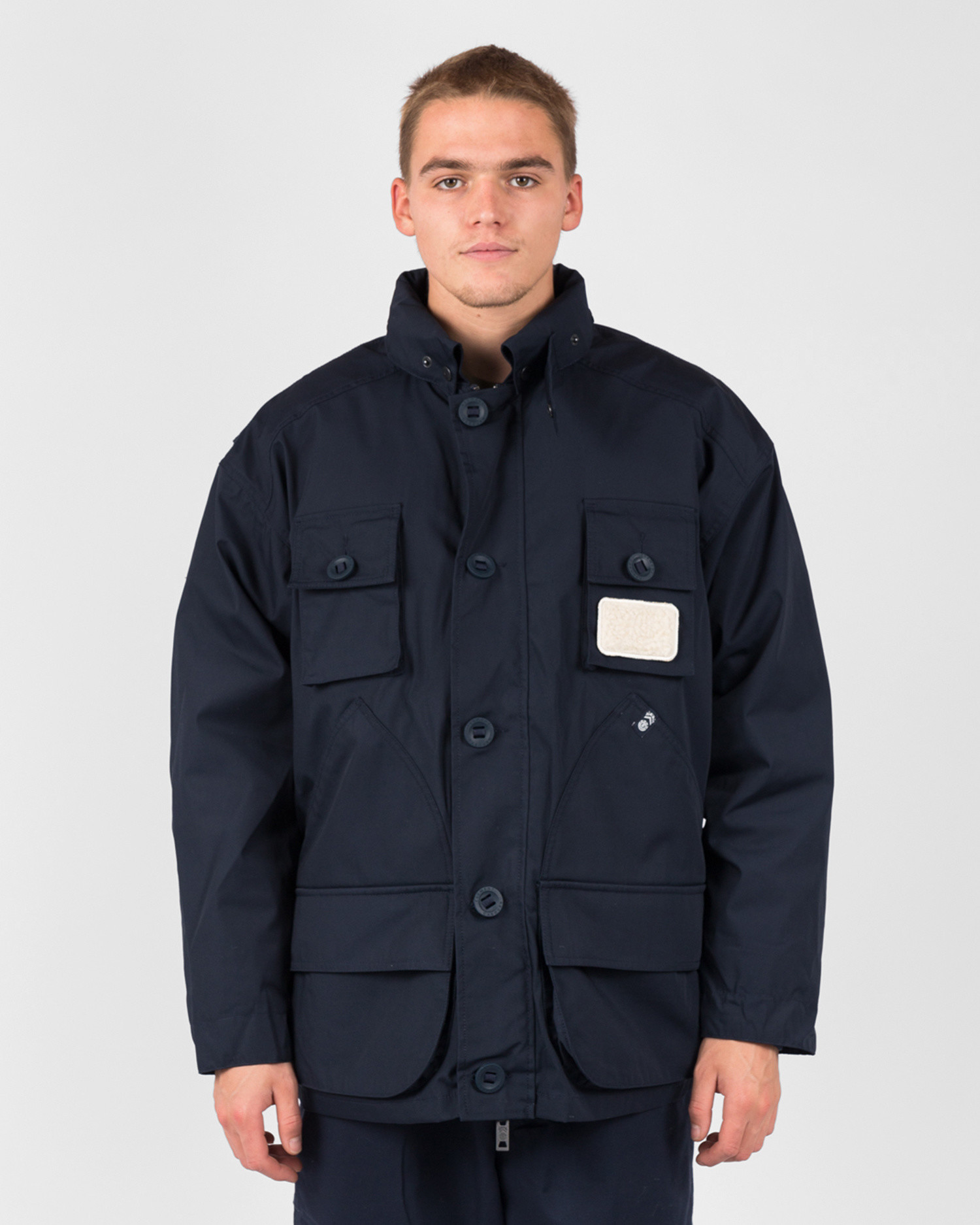 Element X Nigel Cabourn alder parka nc Eclipse Navy