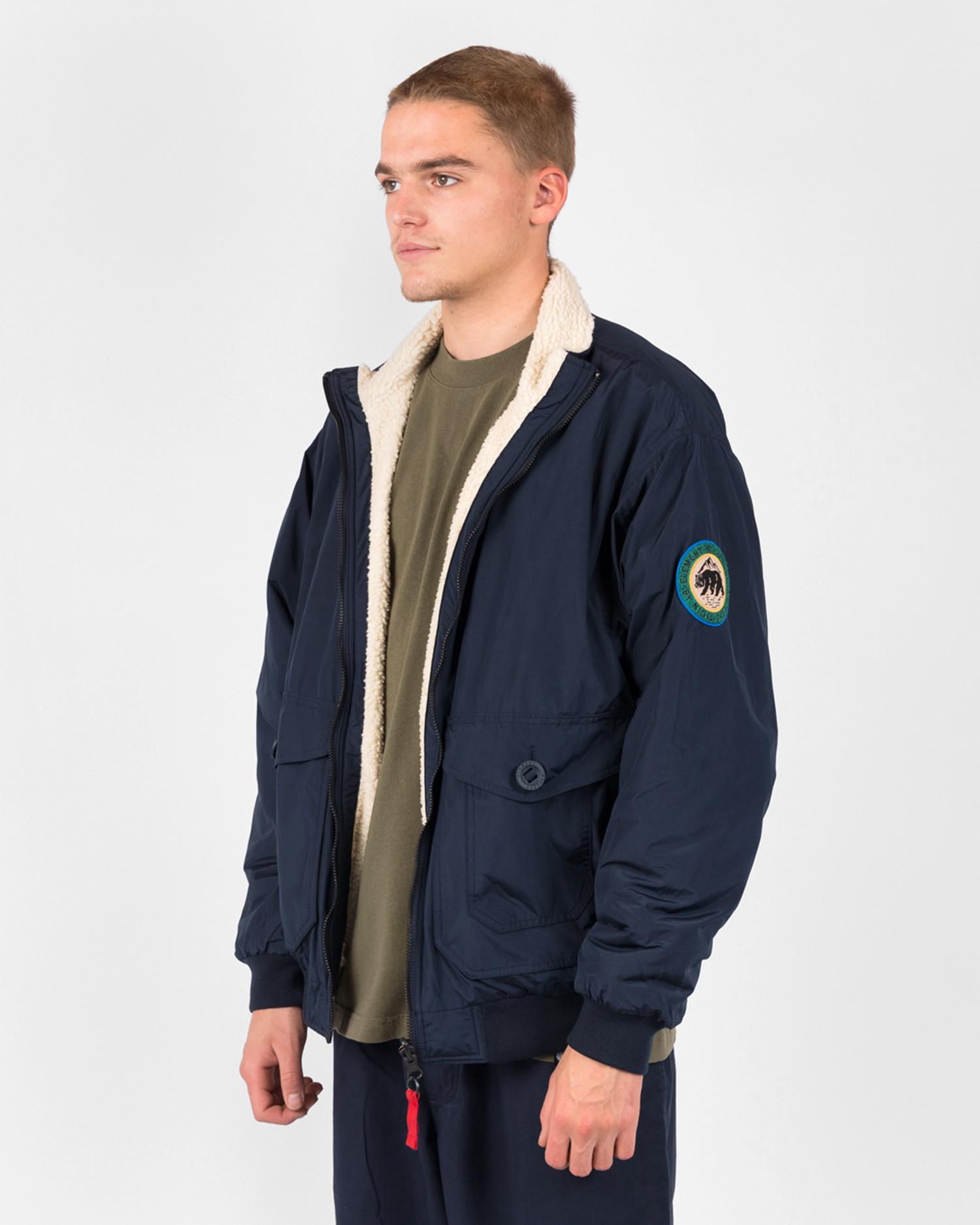 Element X Nigel Cabourn reversible creek jacket nc Eclipse Navy
