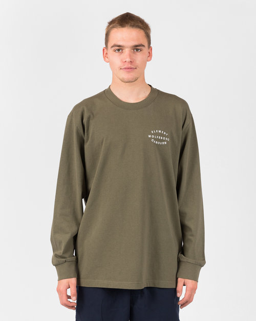 Element Element X Nigel Cabourn Classic Ls Tee Army