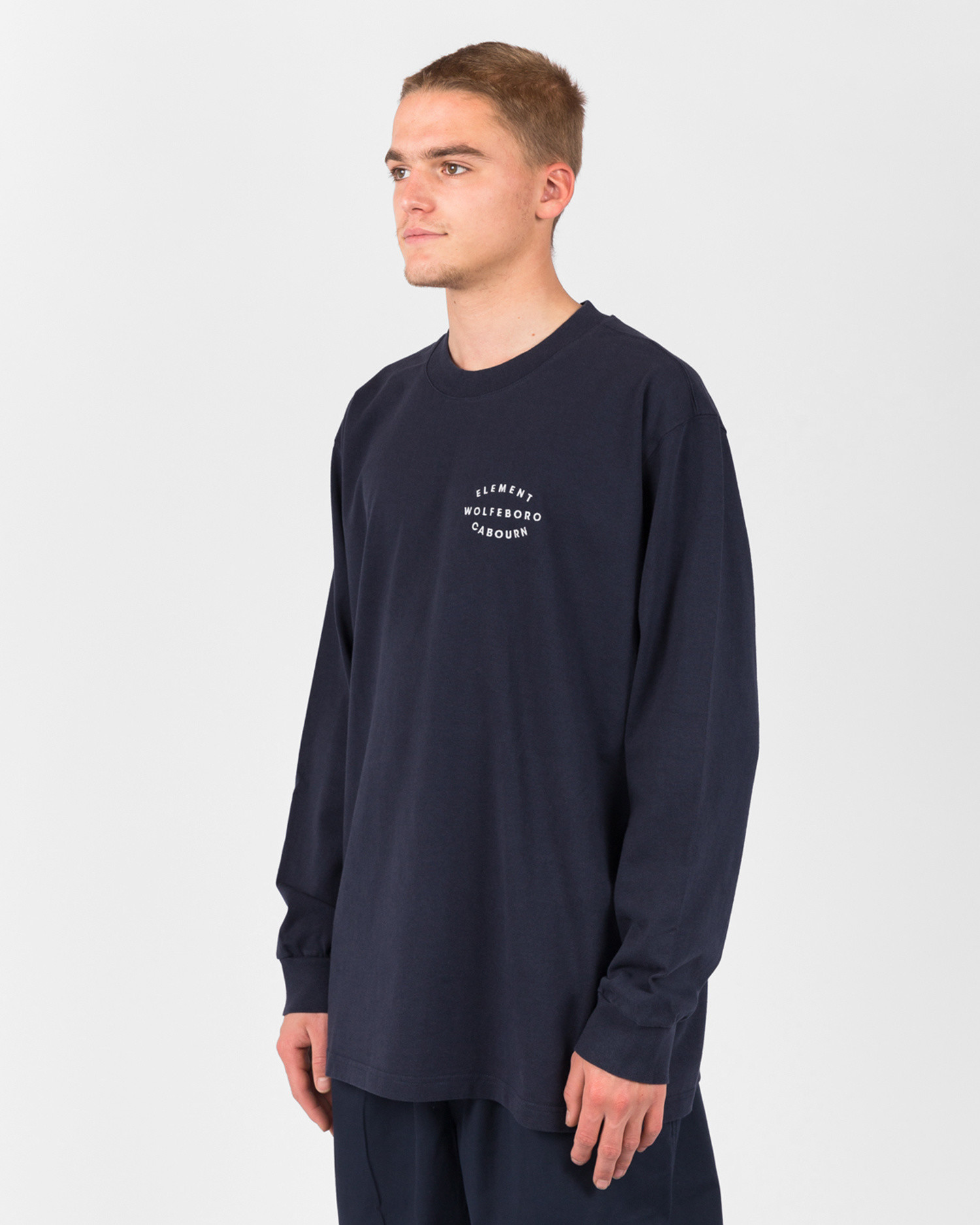 Element X Nigel Cabourn Classic Ls Eclipse Navy