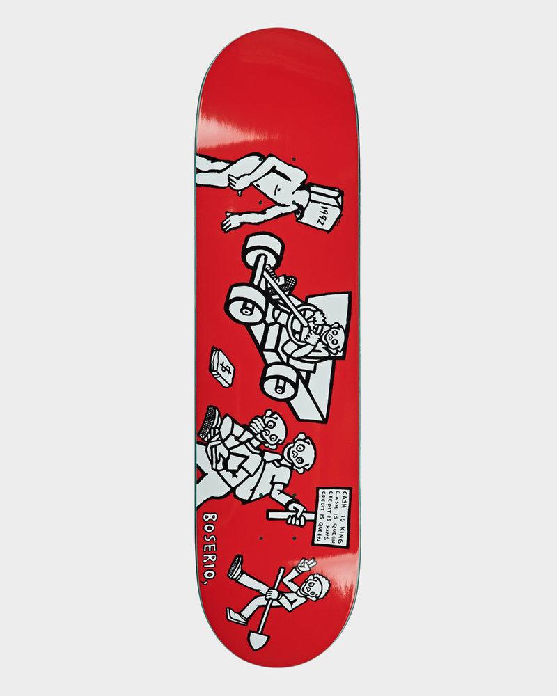 Polar Polar Boserio Cash is Queen 8.125 red
