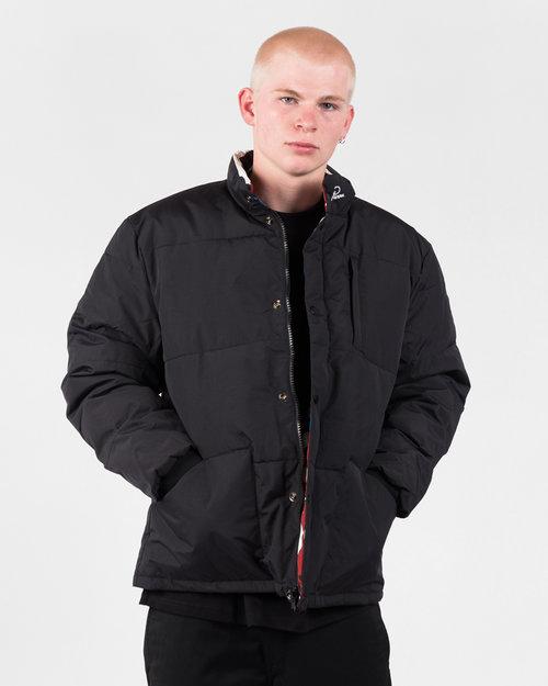 Parra Parra Nerveux Puffer Jacket Multi Color