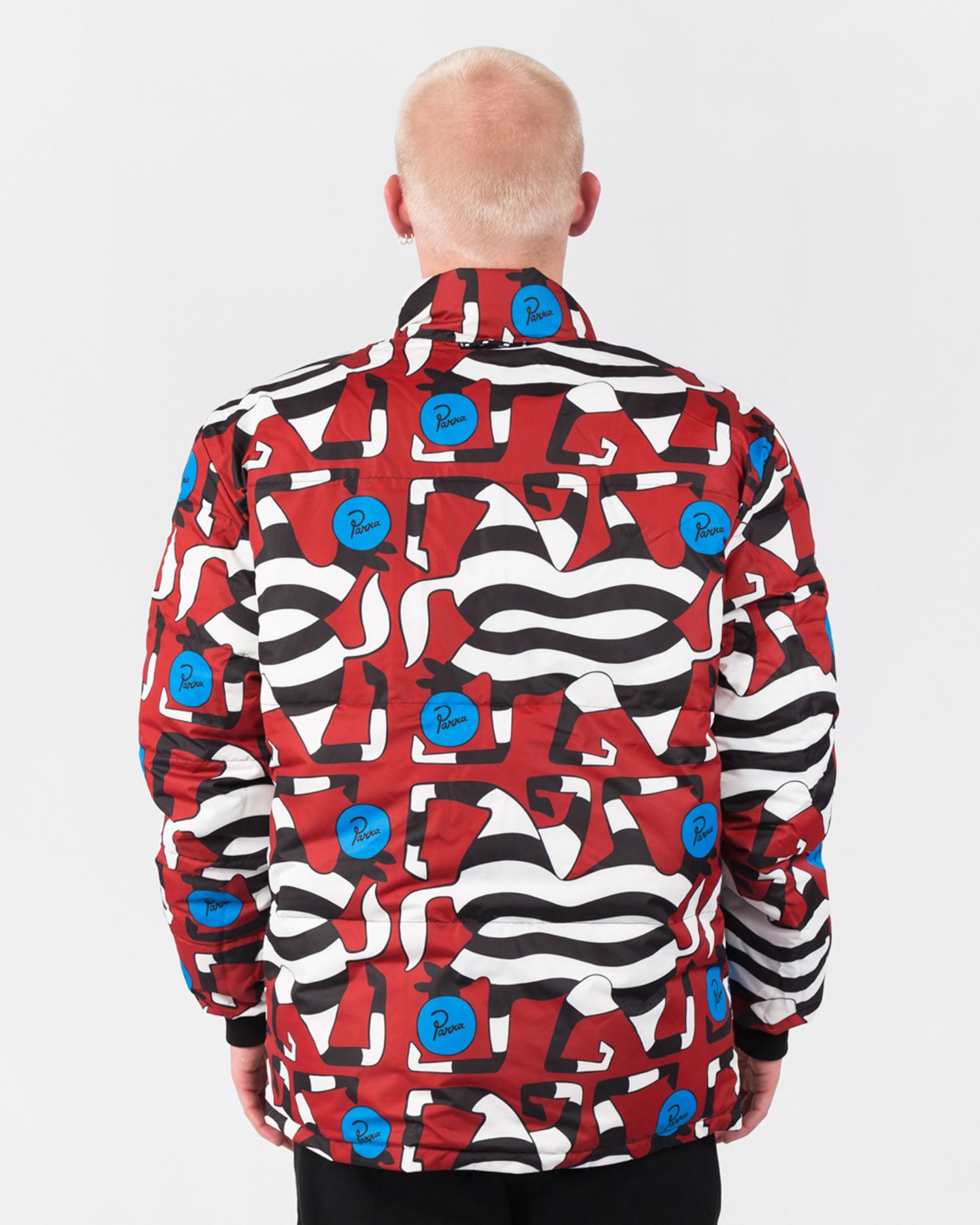 Parra Nerveux Puffer Jacket Multi Color