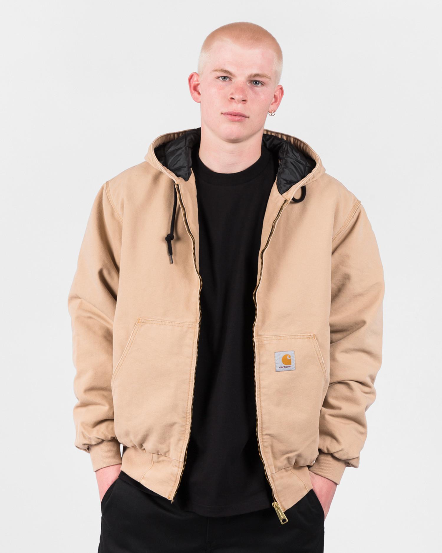 Carhartt OG Active Jacket Dusty H Brown Aged Canvas