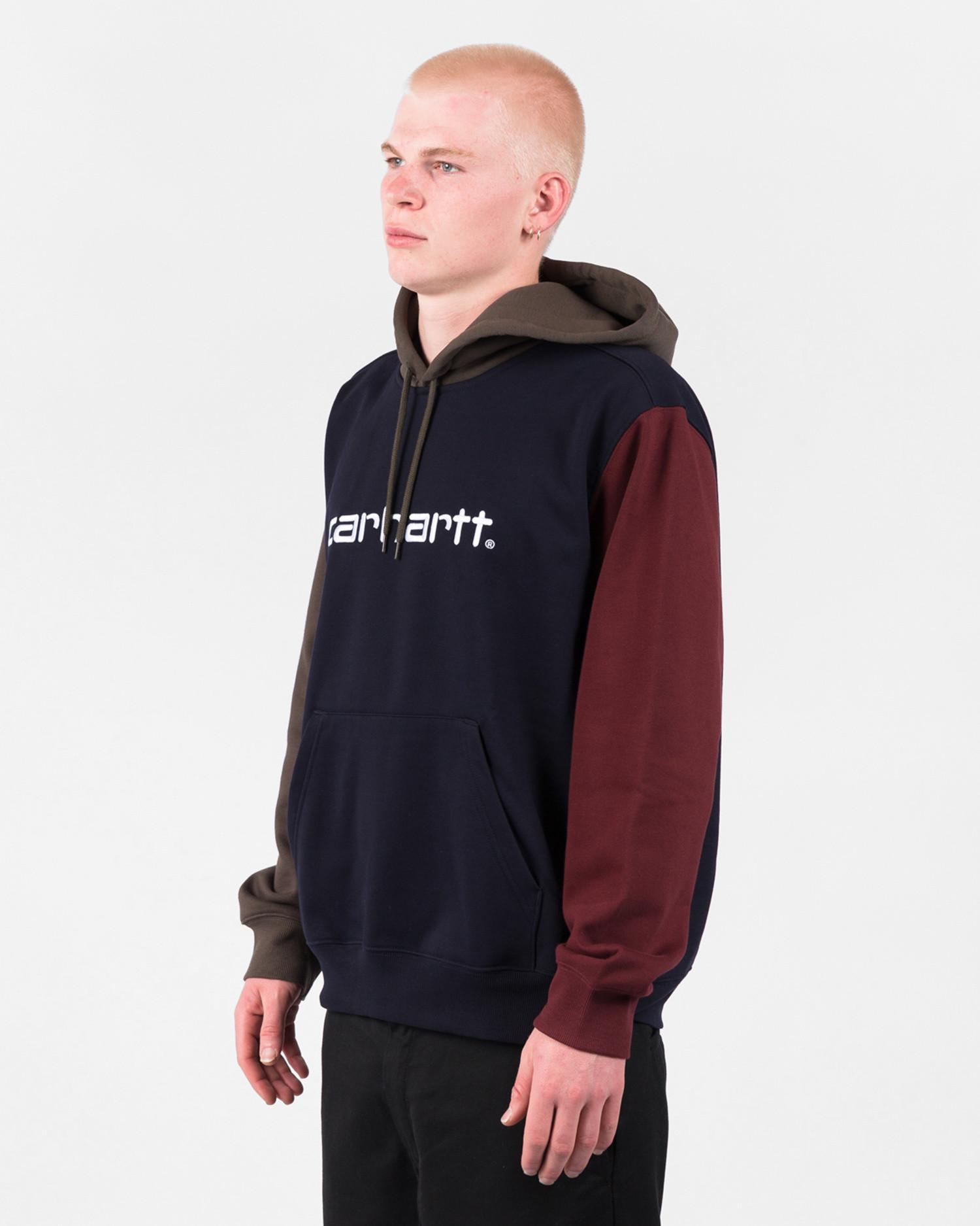 Carhartt Hooded Tricol Sweat Dark Navy