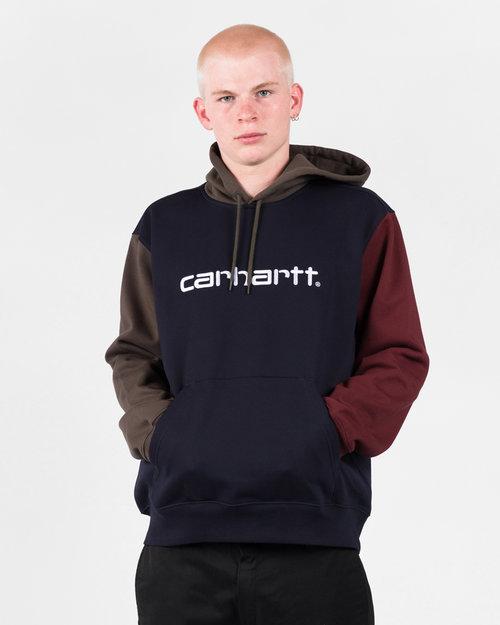 Carhartt Carhartt Hooded Tricol Sweat Dark Navy