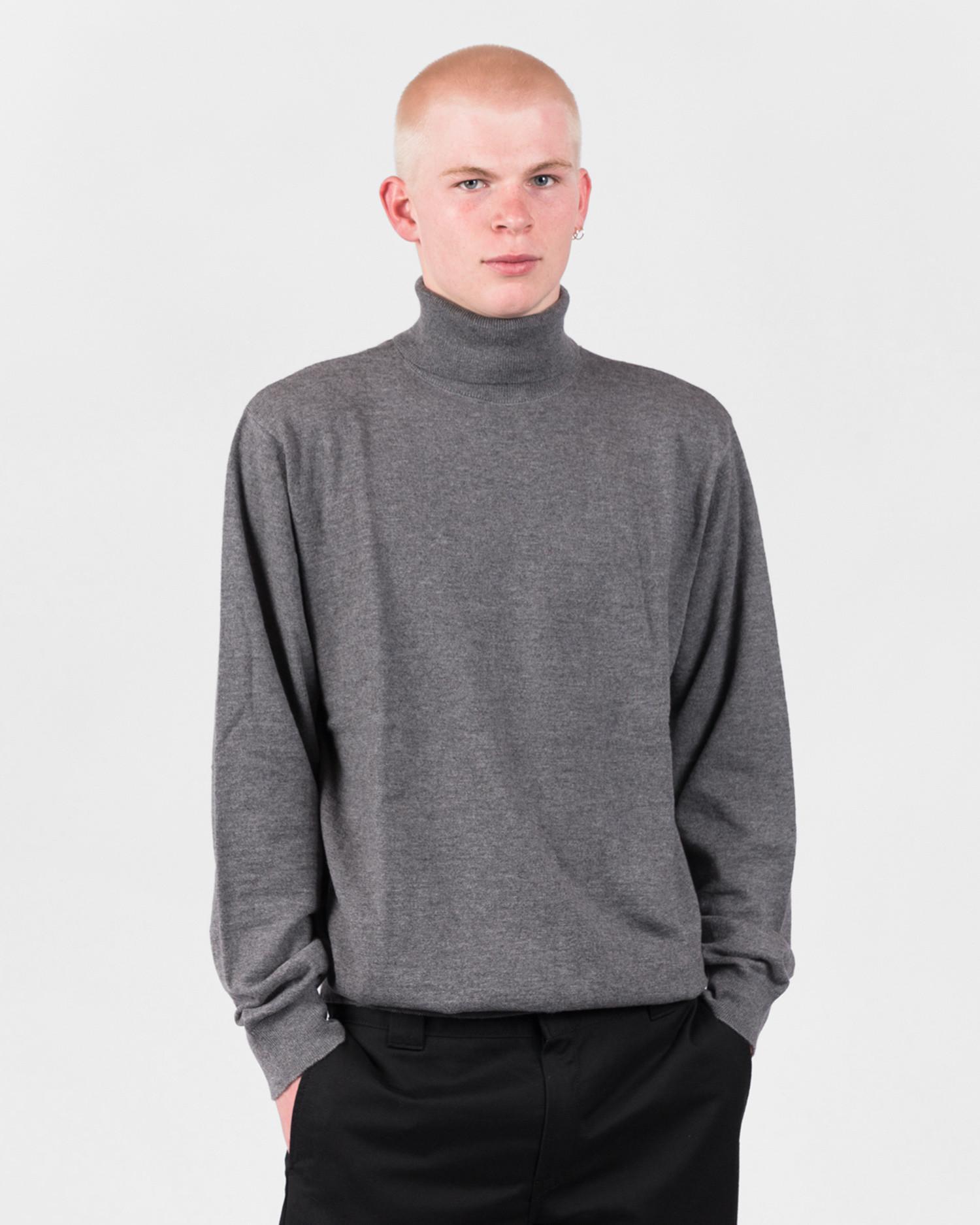 Carhartt Playoff Turtleneck Sweater Dark Grey Heather
