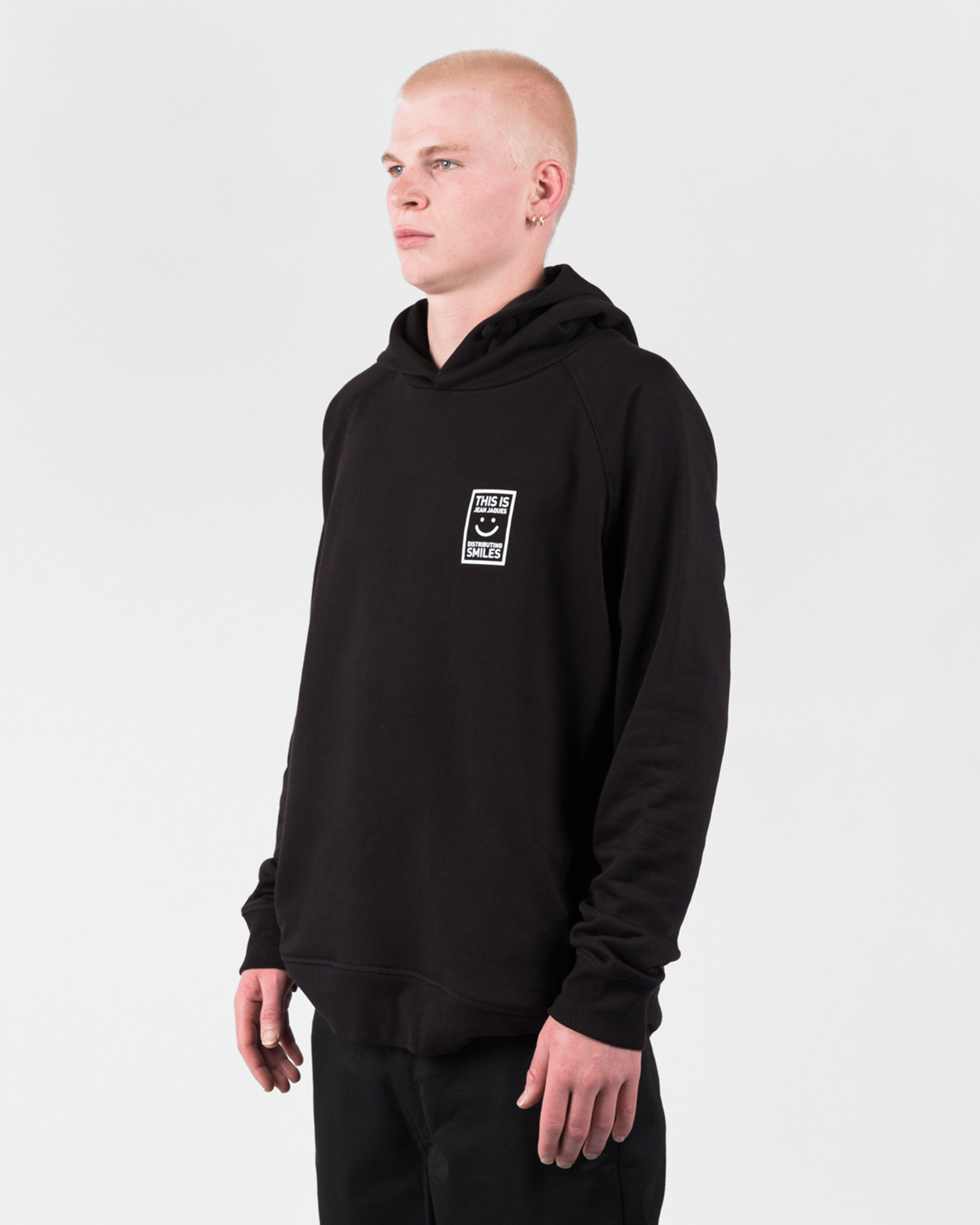 Jean Jaques Distributing Smiles Hoodie Black