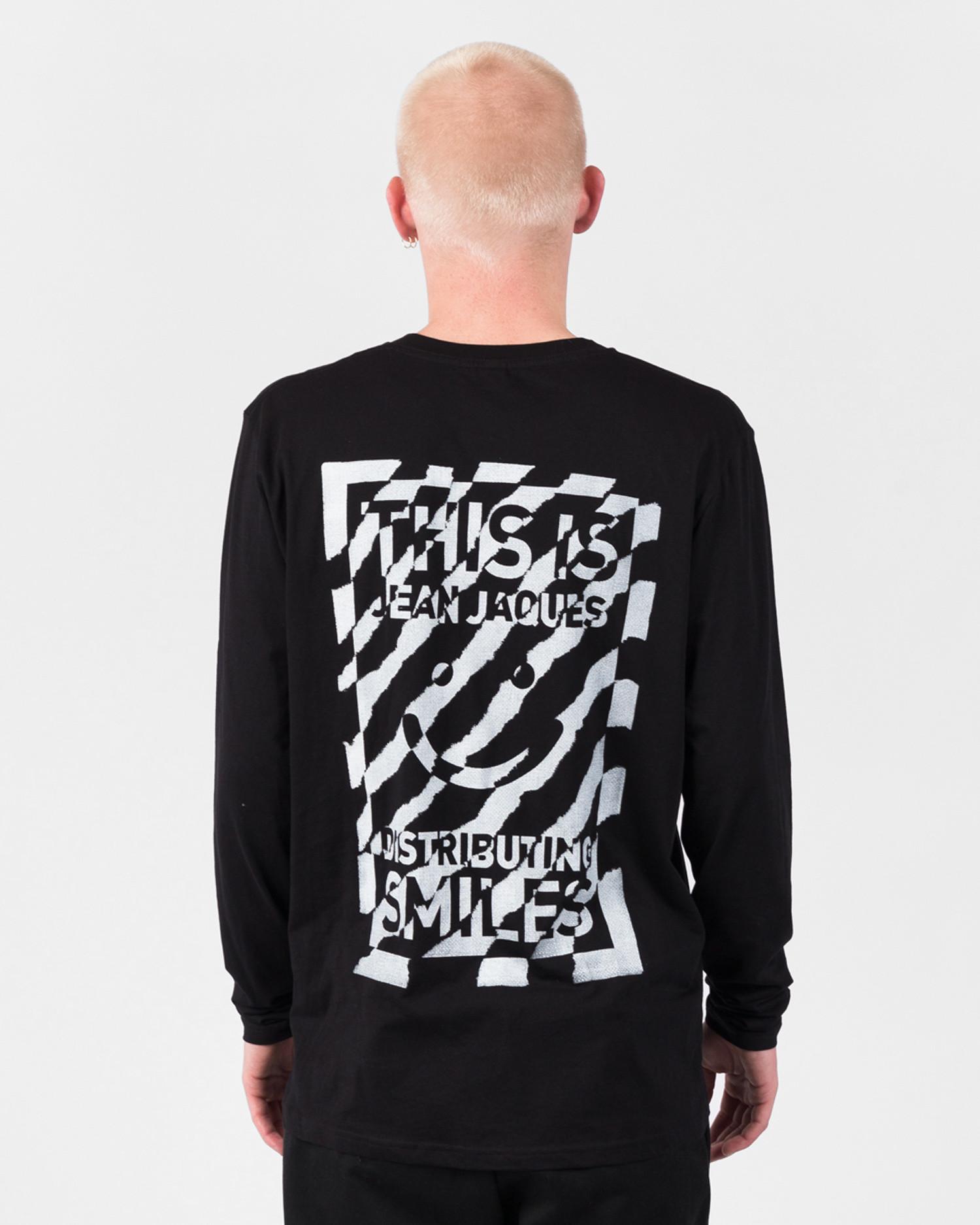 Jean Jaques Zebra Longsleeve Black/White