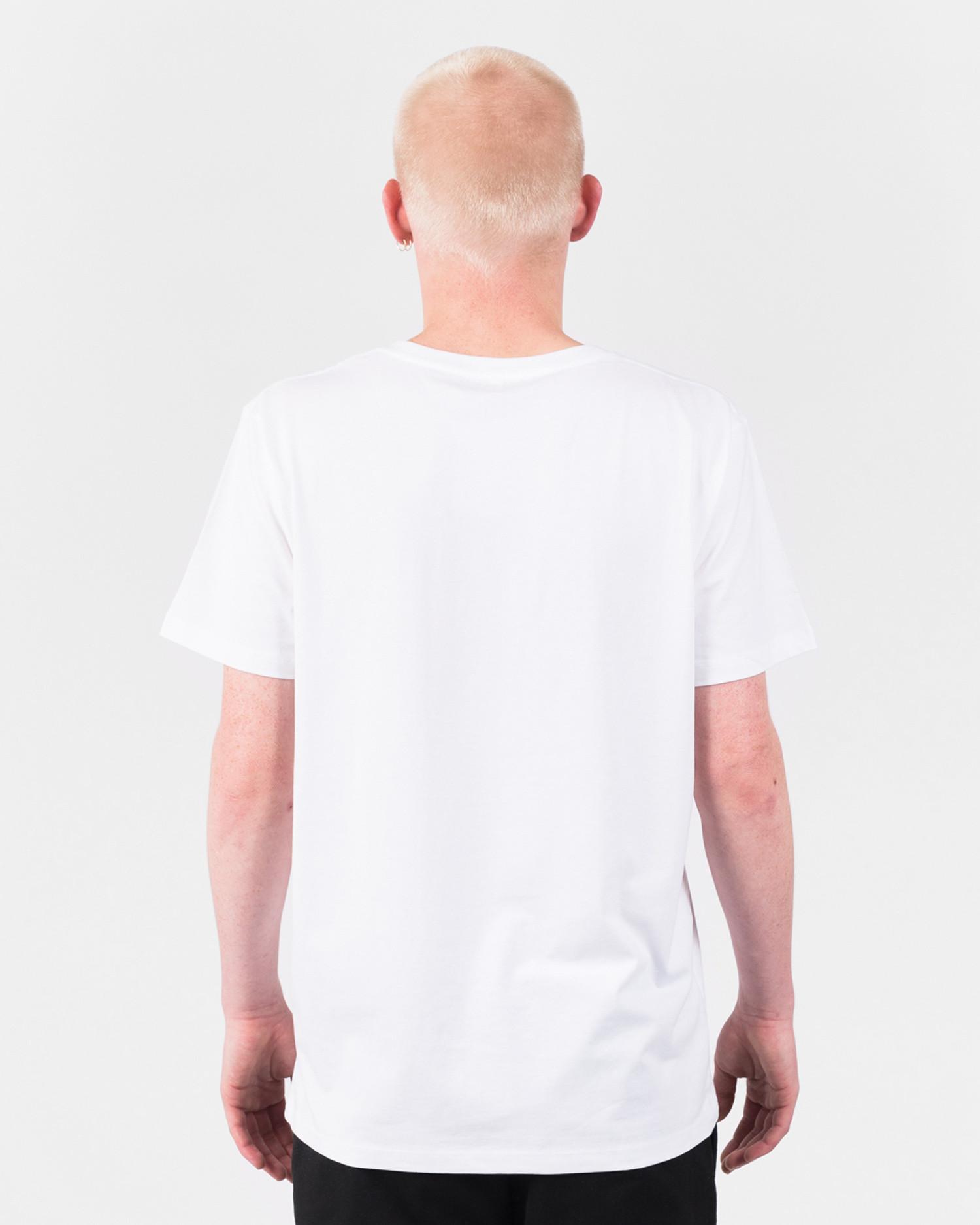 Ni Liege Basic Logo T-Shirt White/Black