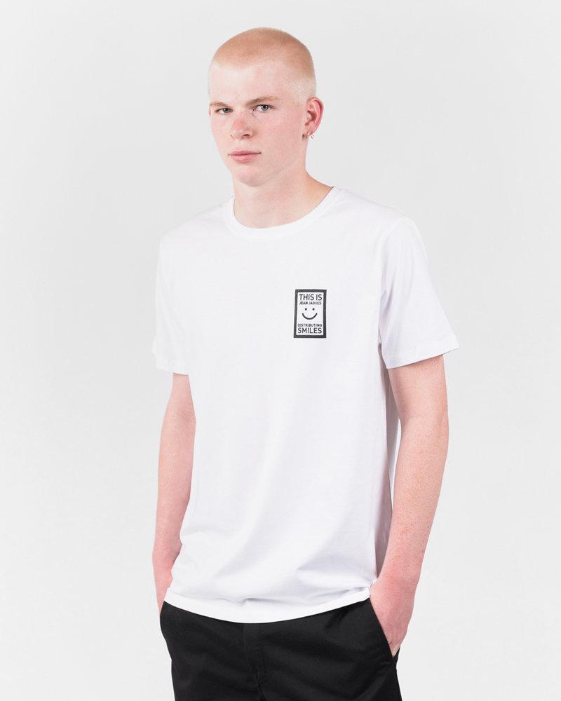 Jean Jaques Jean Jaques Basic Logo T-Shirt White/Black