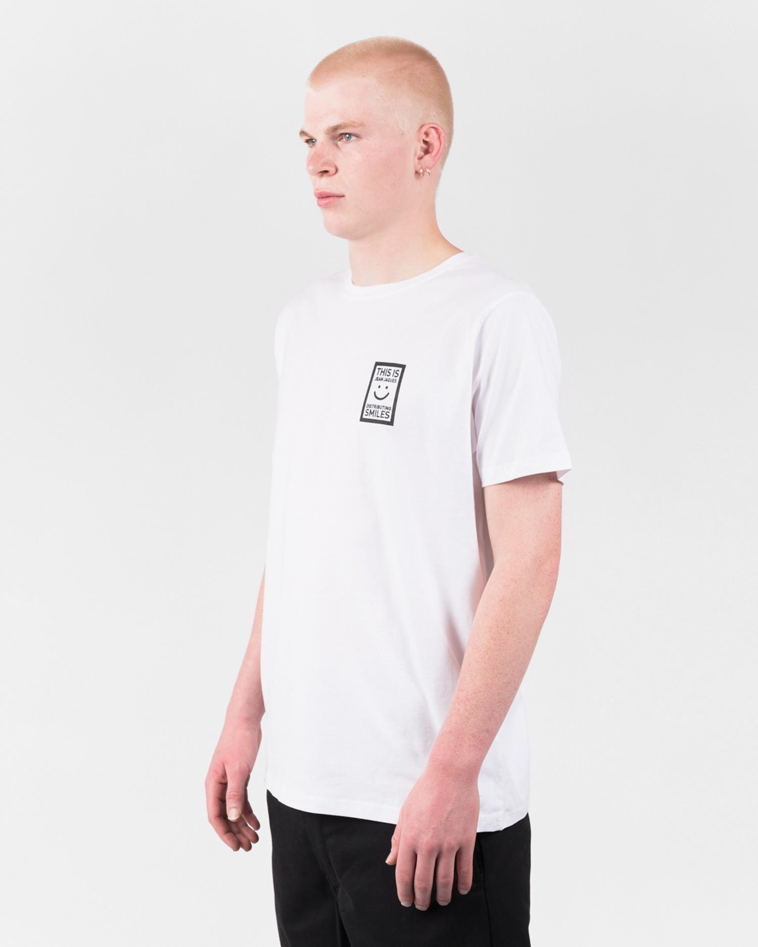Jean Jaques Basic Logo T-Shirt White/Black