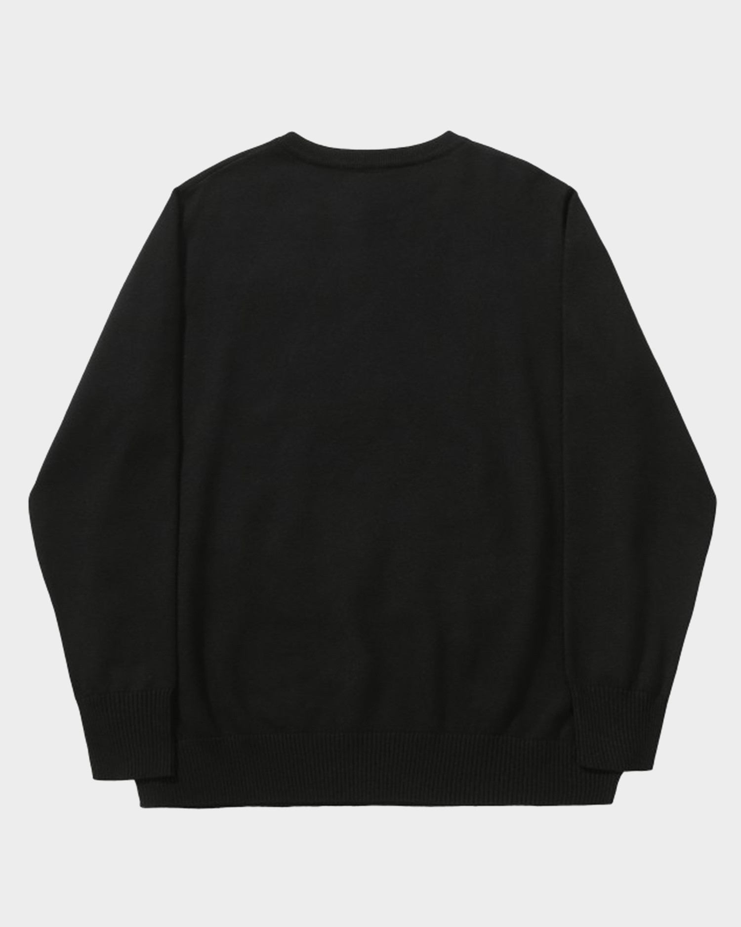 Helas United Knit Sweater Black