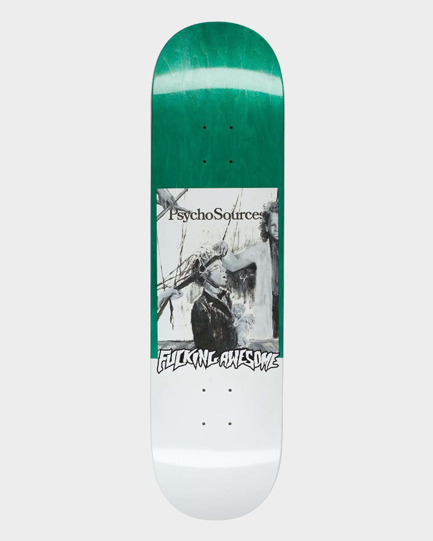 Fucking Awesome Deck Dill Psycho Sources Green 8.18