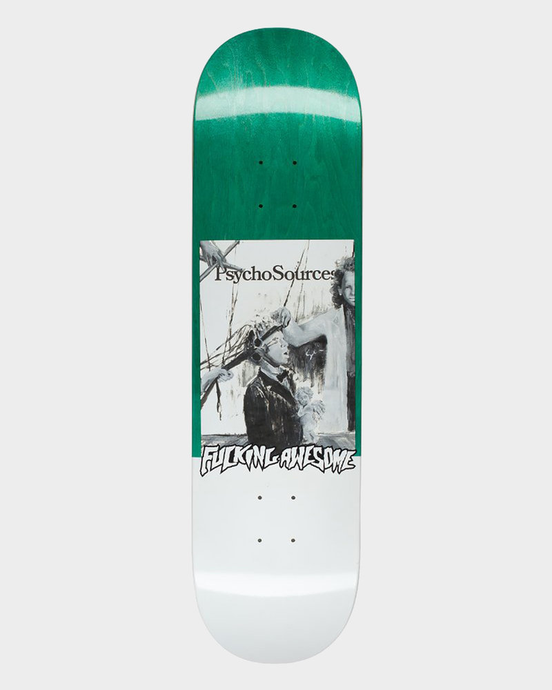 Fucking Awesome Fucking Awesome Deck Dill Psycho Sources Green 8.18