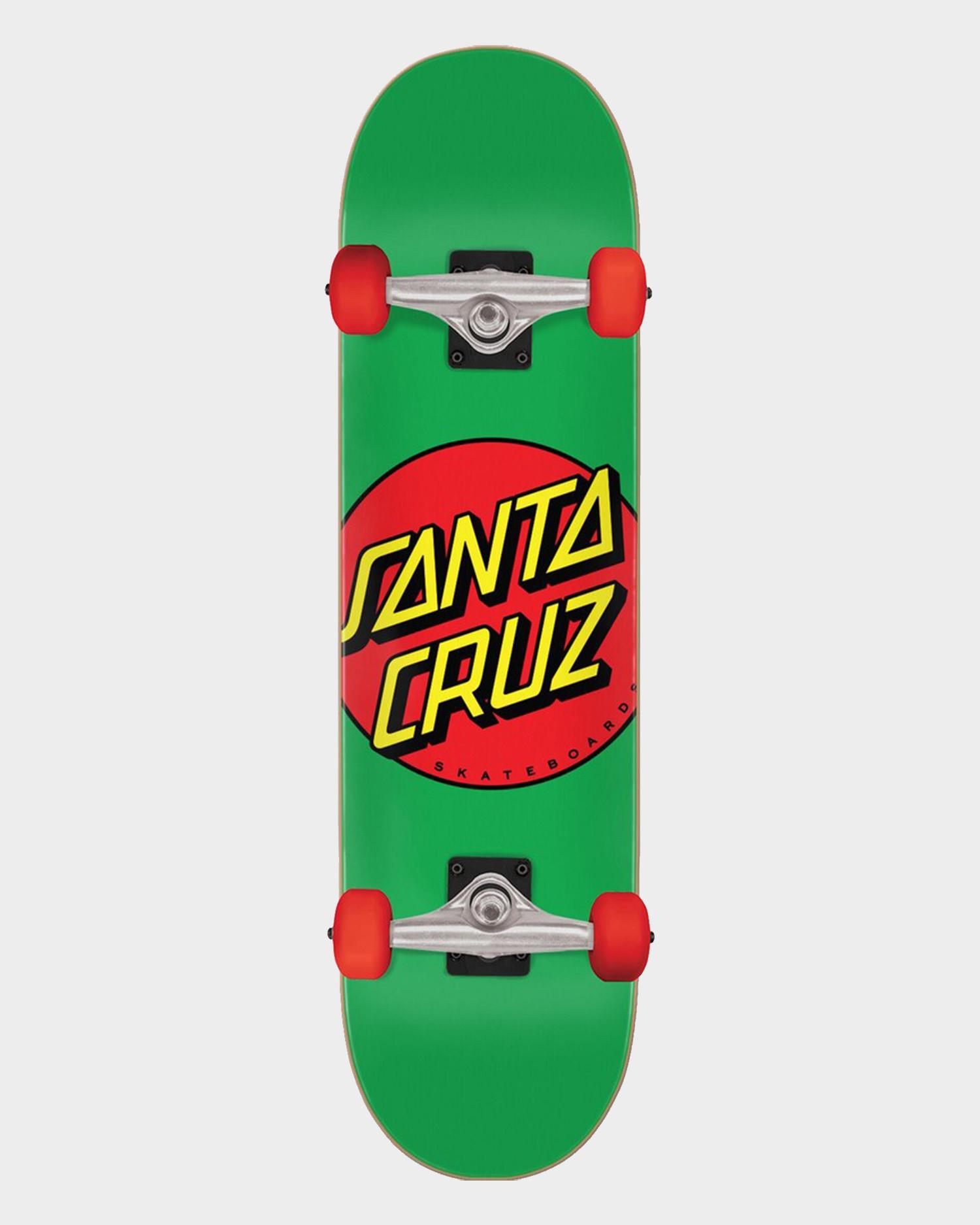 Santa Cruz Classic Dot Mid Complete Green 7.875