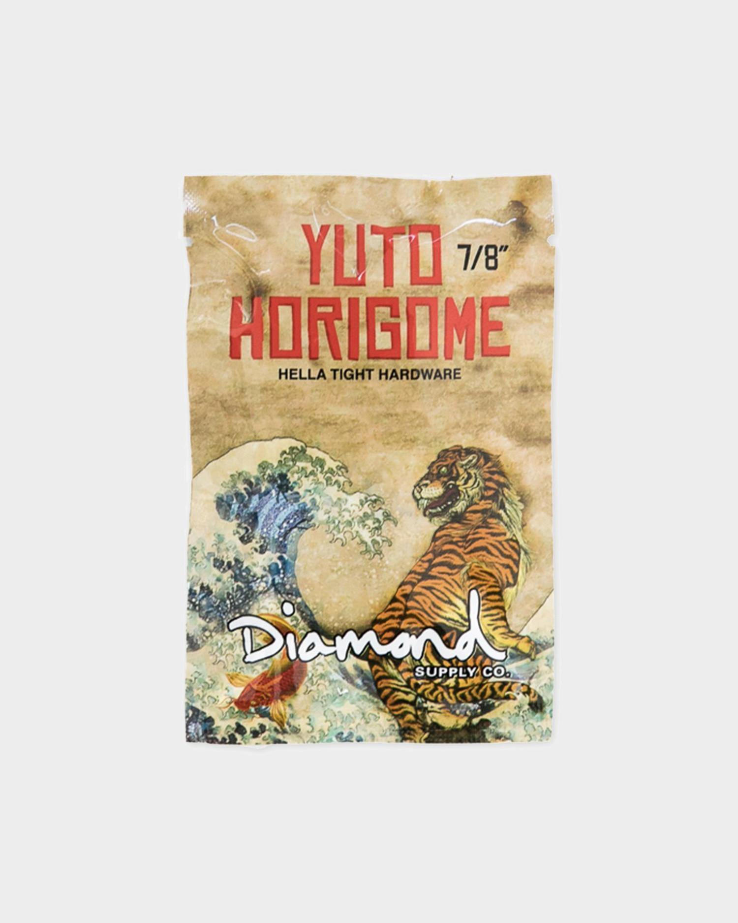 Diamond Bolts Yuto Horigome Pro Hardware 7/8 inch Gold